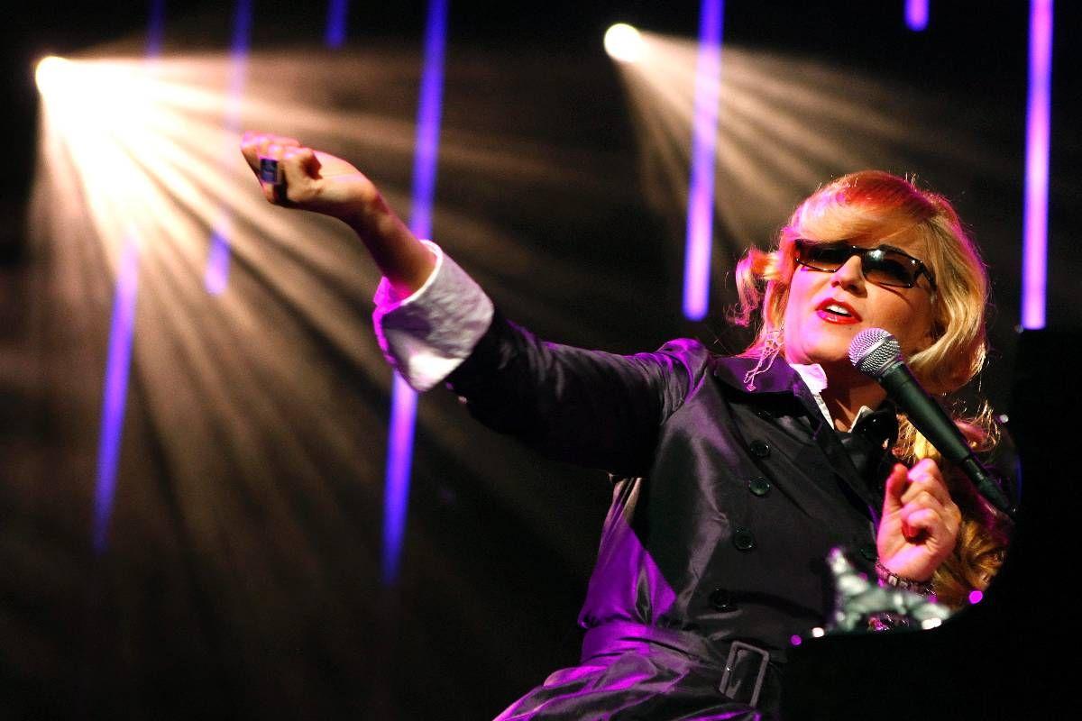 AVLYSER: Melody Gardot skulle holdt konsert i Grieghallen i kveld. FOTO: AP