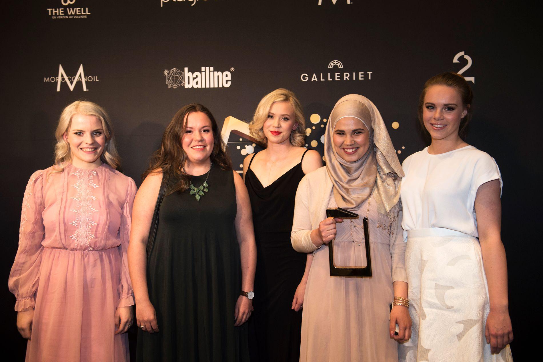 """VANT GULLRUTEN: TV-serien """"Skam"""" vant tre Gullruten-priser under årets prisutdeling."""
