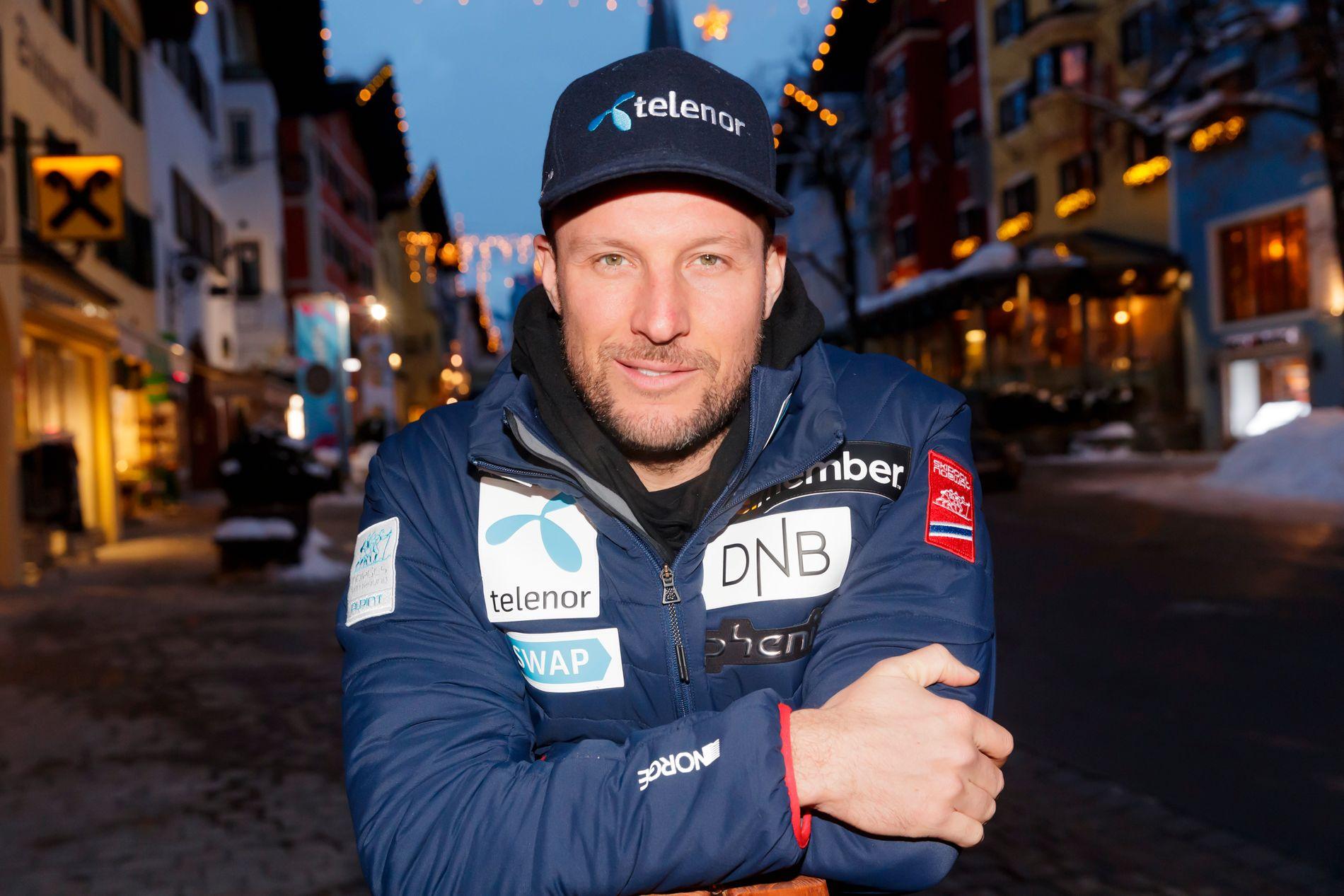 Aksel Lund Svindal er på plass i Kitzbühel, men drar på legesjekk i stedet for treningsomgang torsdag.