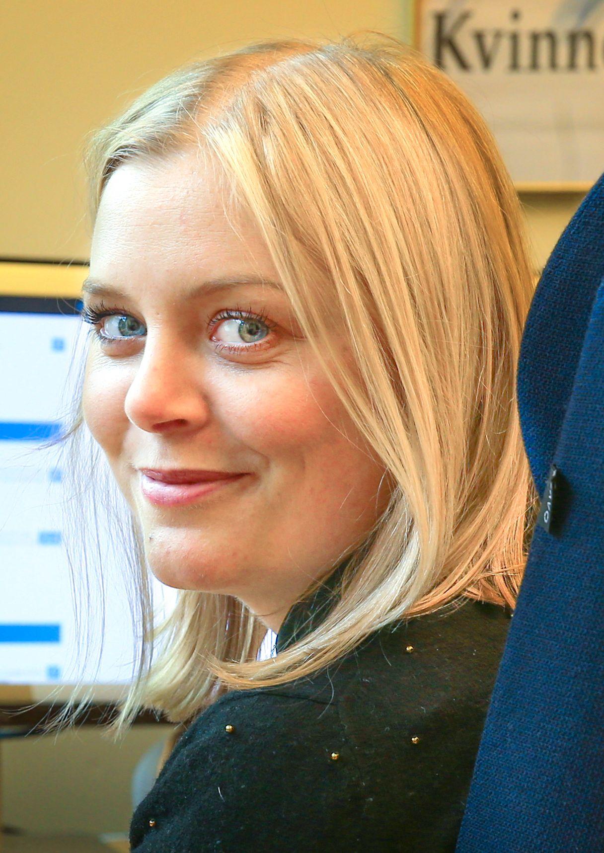 PÅ STORTINGET: Tina Bru (H) fra Rogaland.