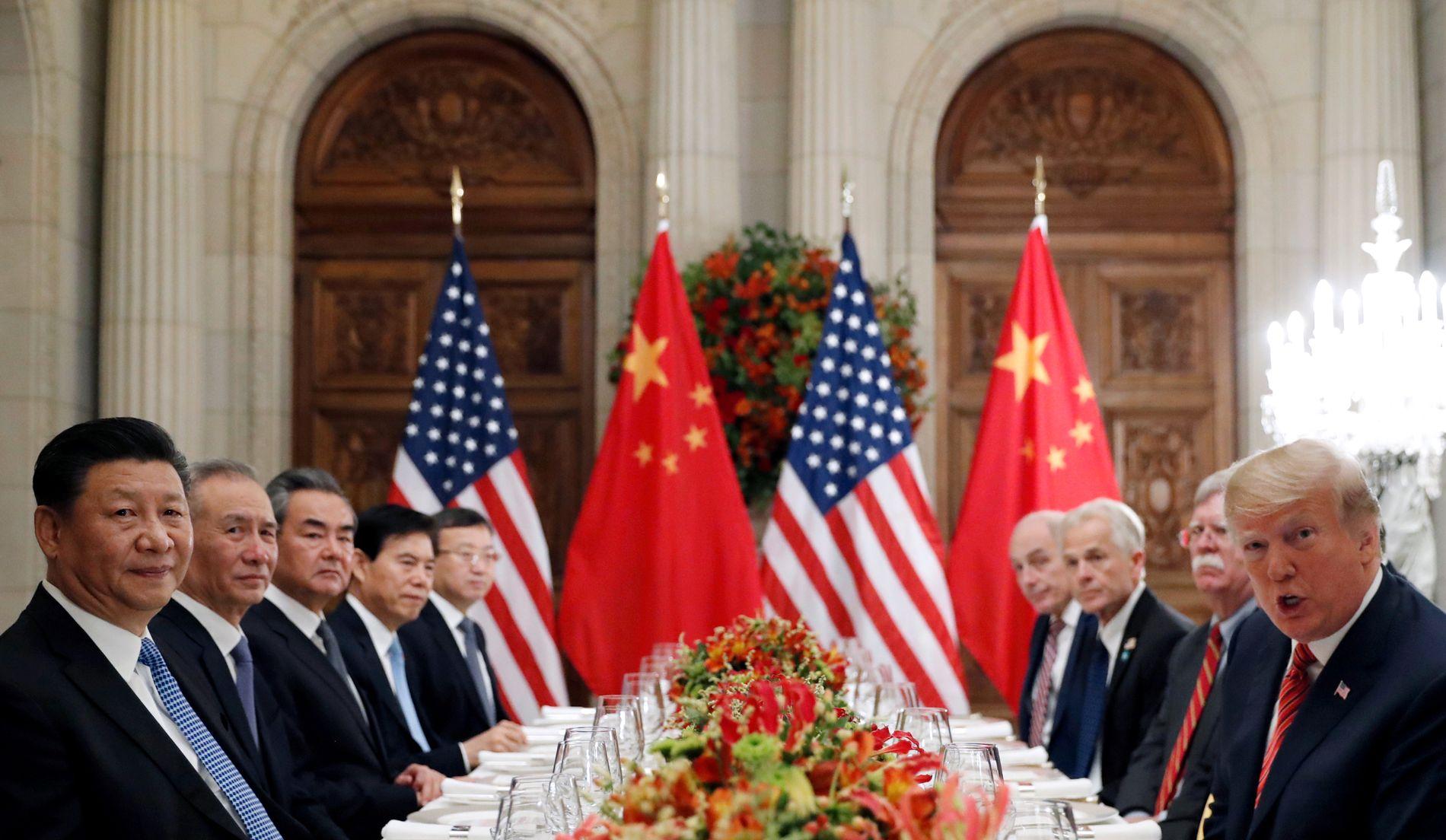 HANDELSKRIG: Utviklinga i verdsøkonomien, og dermed norske lånerenter, er sterkt avhengig av dei pågåande forhandlingane mellom USA og Kina.