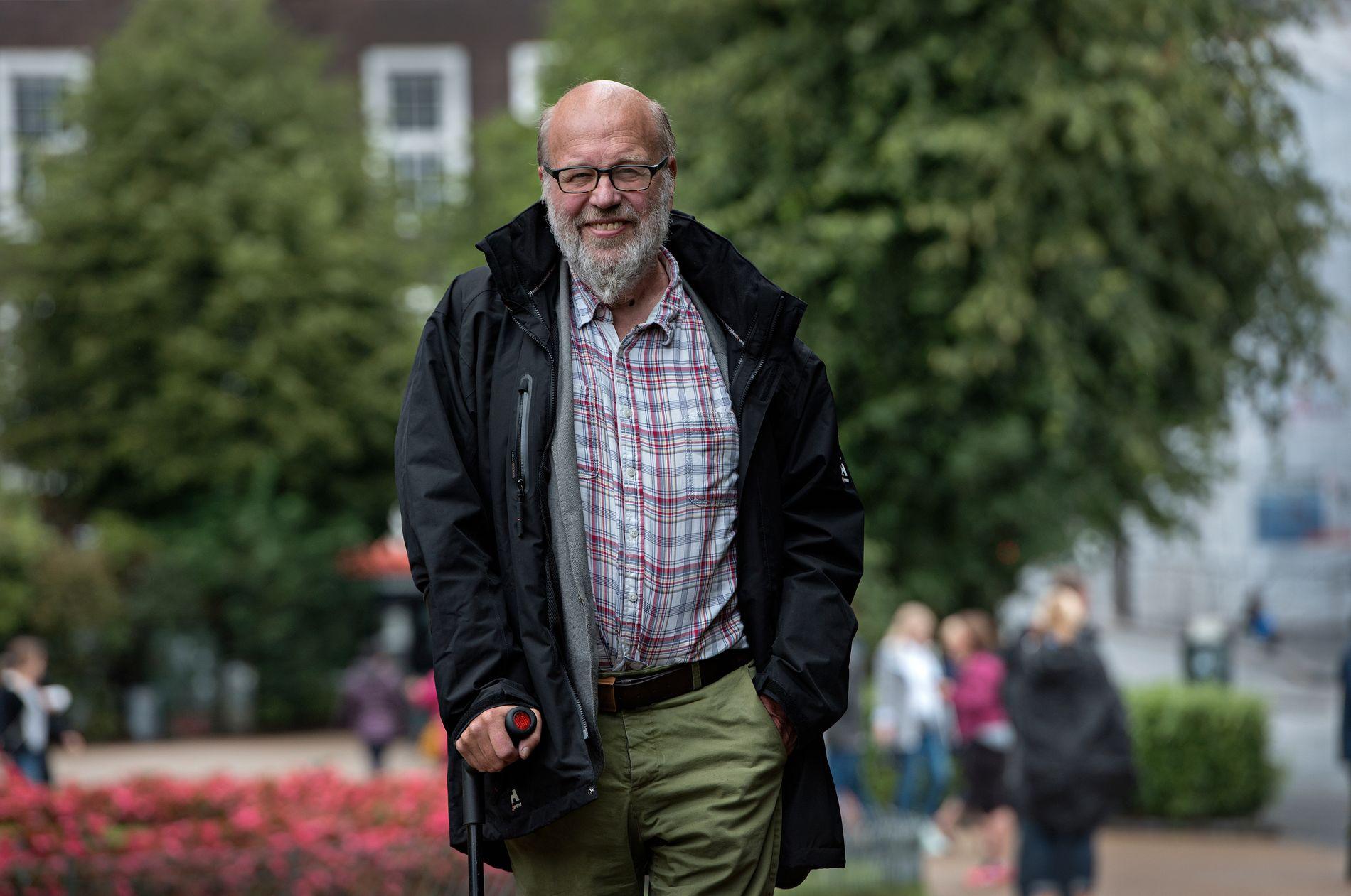 – MØRKEMENN ER SNOP: Asbjørn Kristoffersen skriv om mørkemenn i ukes Eldrebølgja.