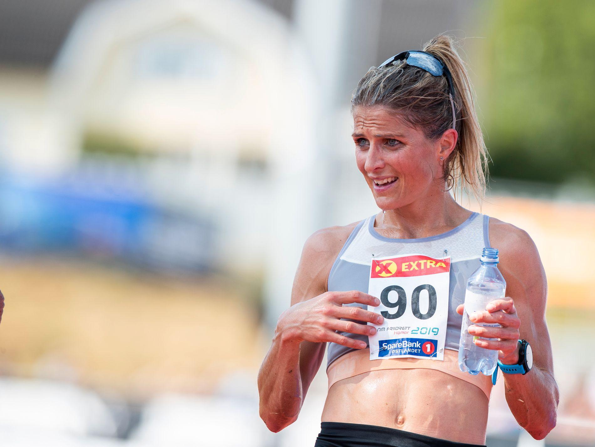 Therese Johaug vant i helgen en overlegen seier på 10.000 meter under NM.