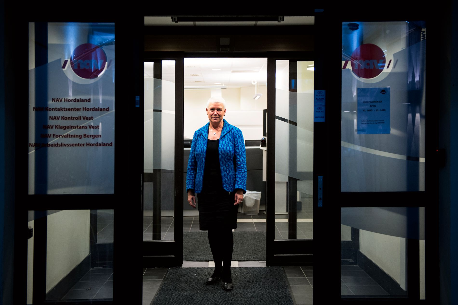 - FLERE UTEN JOBB: - Ledigheten er fortsatt lav, men de som er arbeidsledig går lengre tid uten jobb, og vi forventer at ledigheten vil gå noe opp i løpet av året, sier fylkesdirektør Anne Kverneland Bogsnes i Nav.