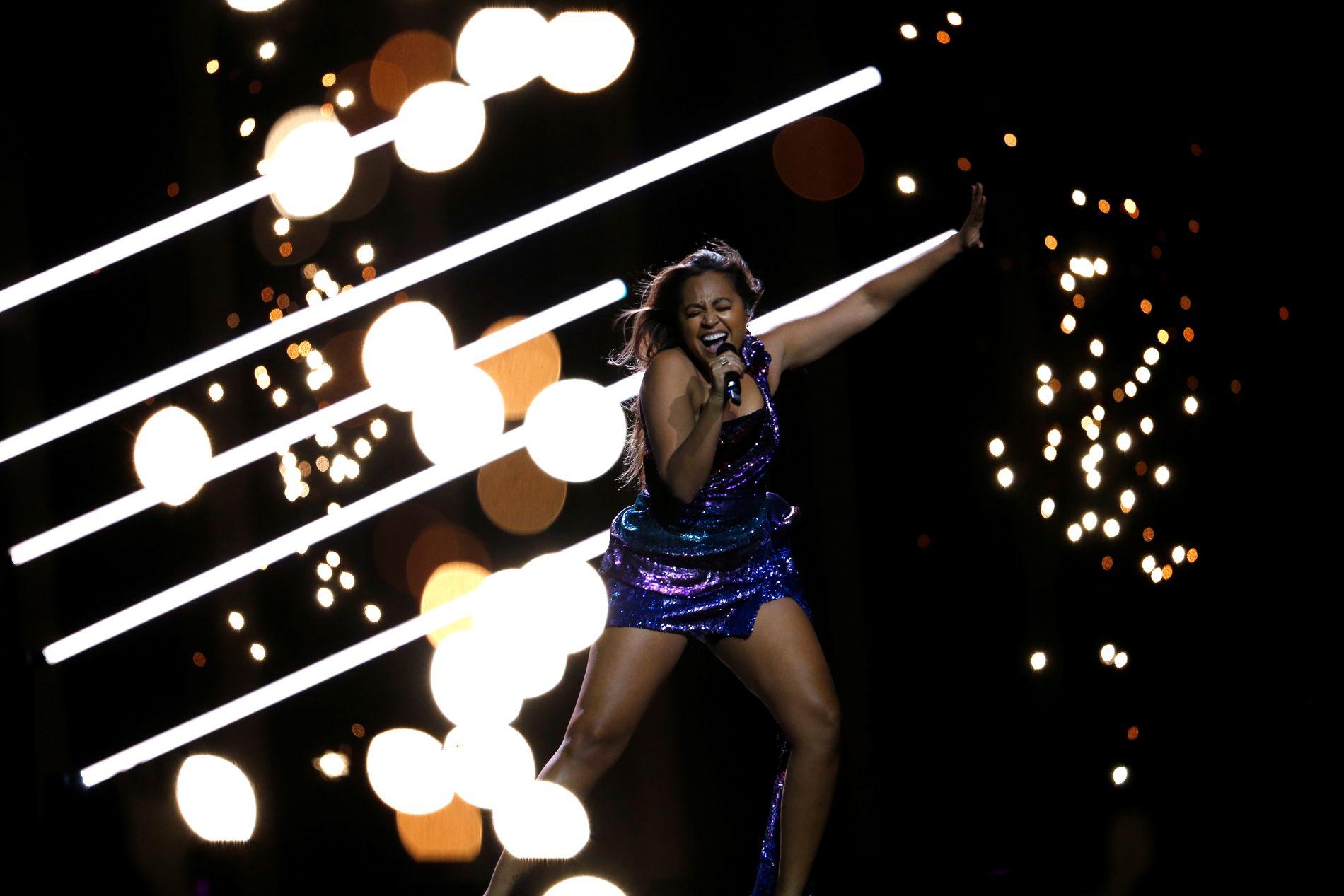 Jessica Mauboy fra Australia har vært med før, og byr på ny og mer glede i årets Eurovision.