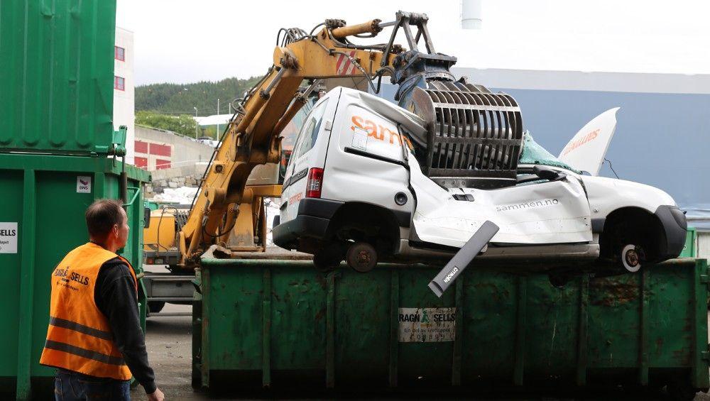 OMSTRIDT: Fullt brukbare dieselbiler skrotes i Bergen, meldte NRK onsdag. Dette er slett ikke miljøvennlig, ifølge innsenderen.