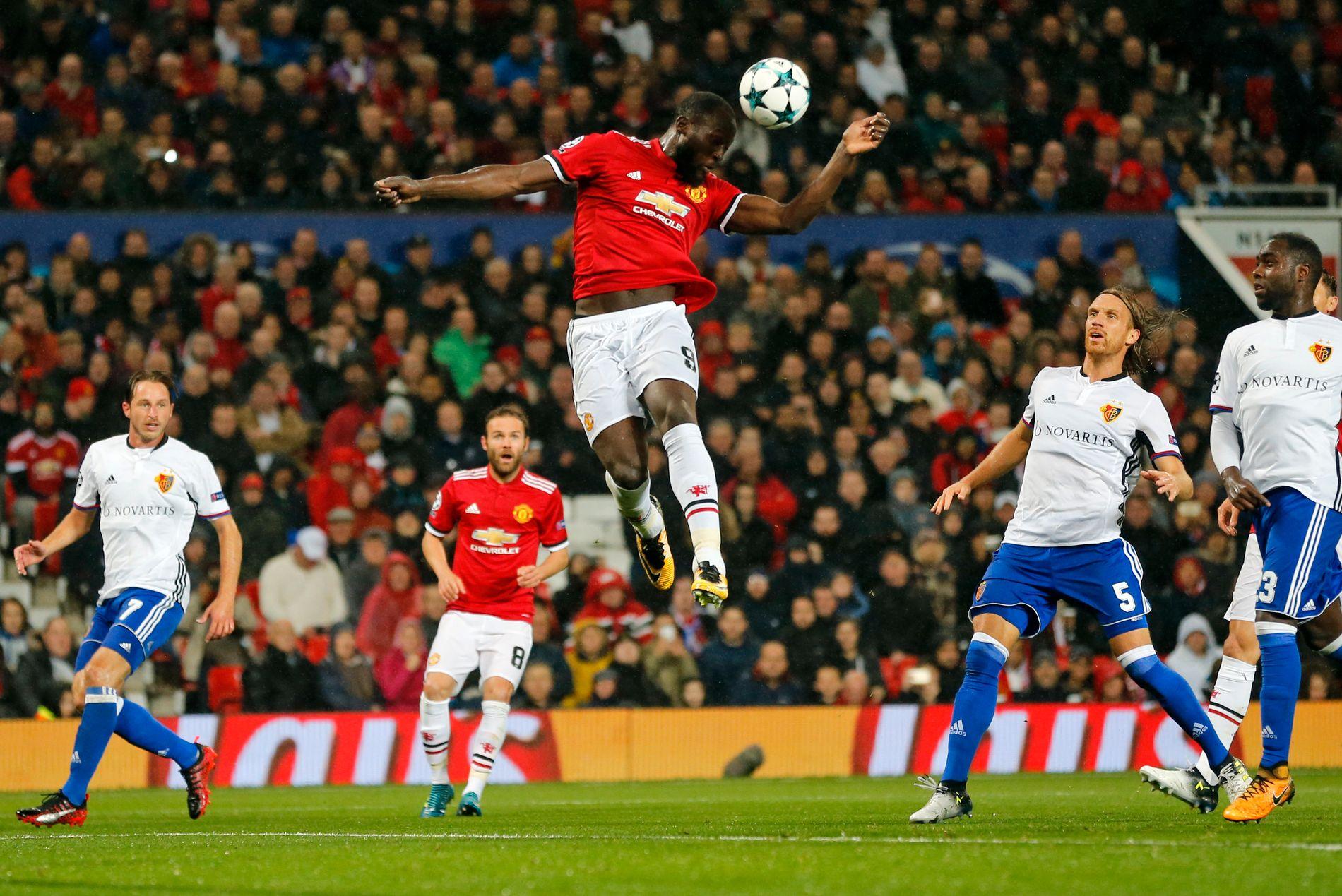 Romelu Lukaku har vist scoringsform i United-trøyen siden overgangen fra Everton i sommer.