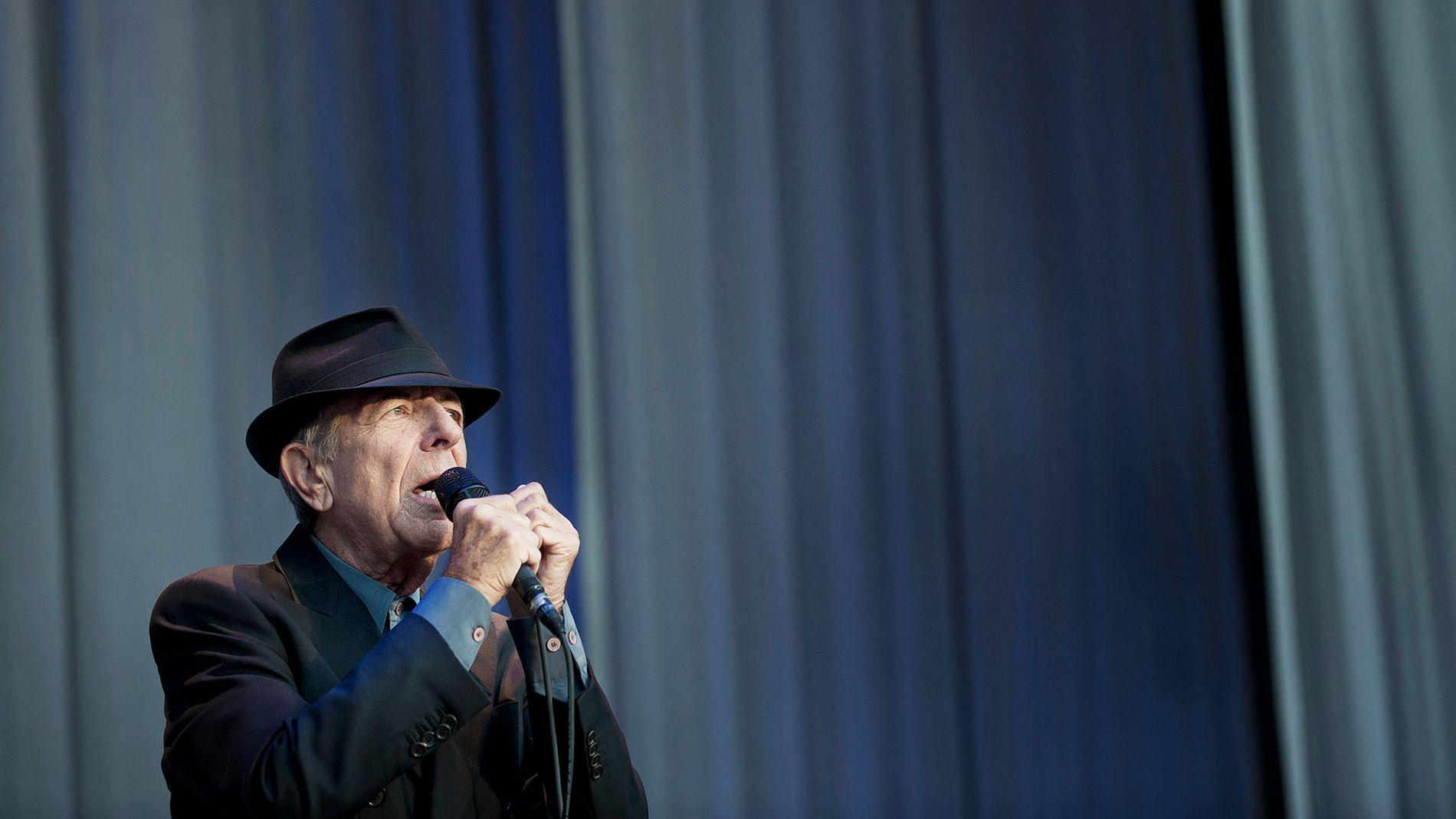 Leonard Cohen på Koengen i 2012