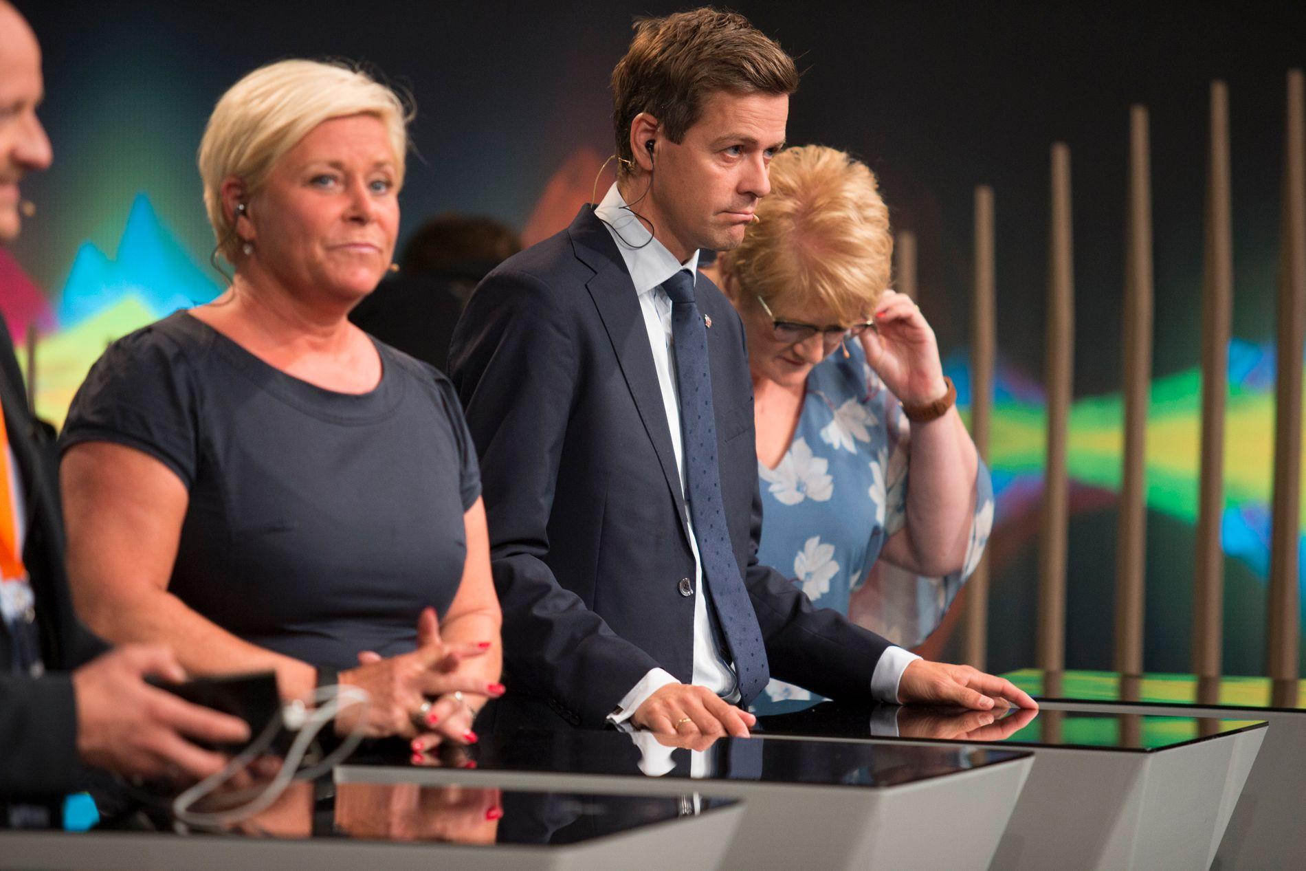 MEISTERSTYKKET: Trine Skei Grande greidde å få Venstre over sperregrensa to gongar på rad. Kan ho greie det i 2021?