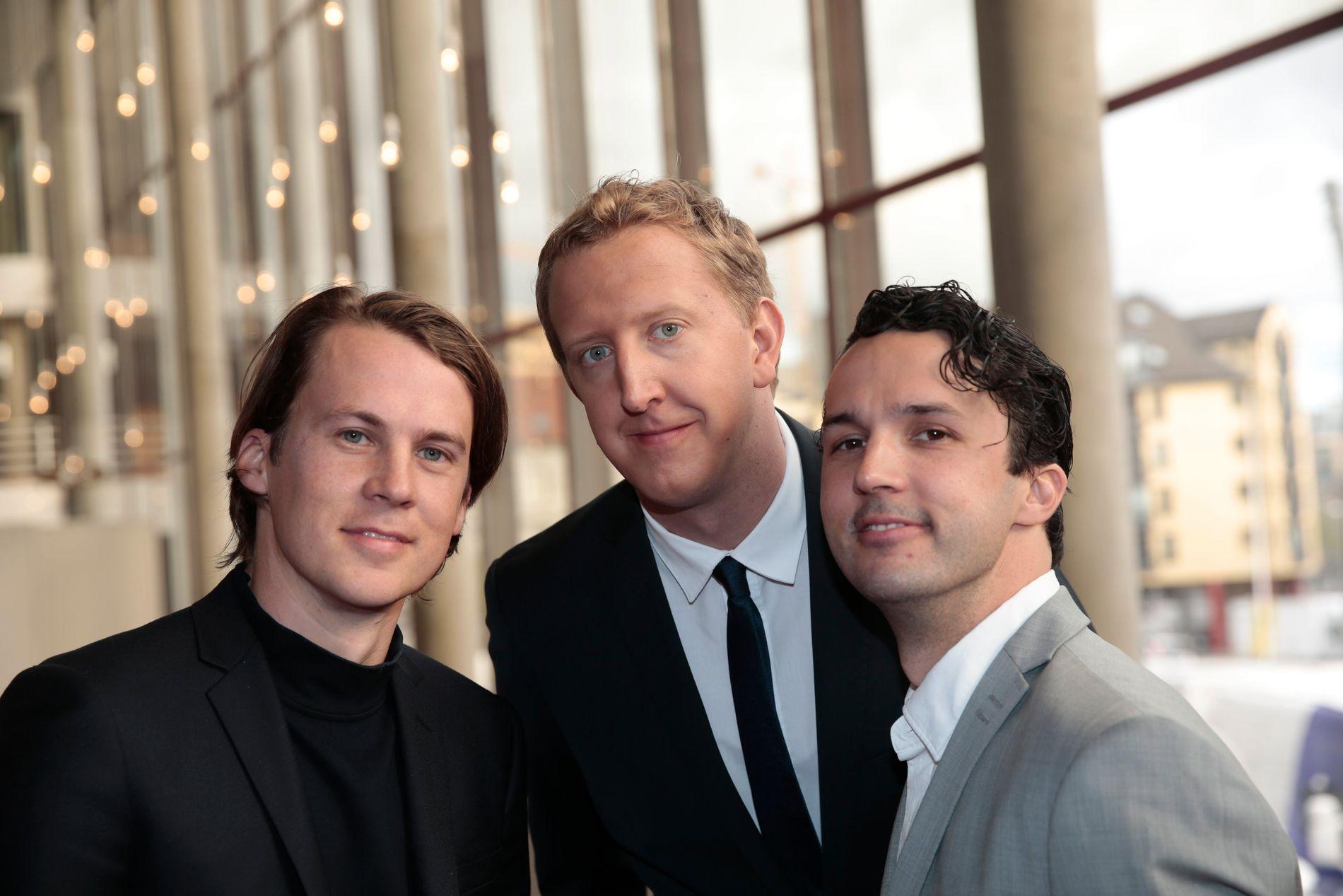 INGEN PRIS I ÅR: Ylvisbrødrene og Magnus Devold (i midten) var blant de nominerte på Gullruten.