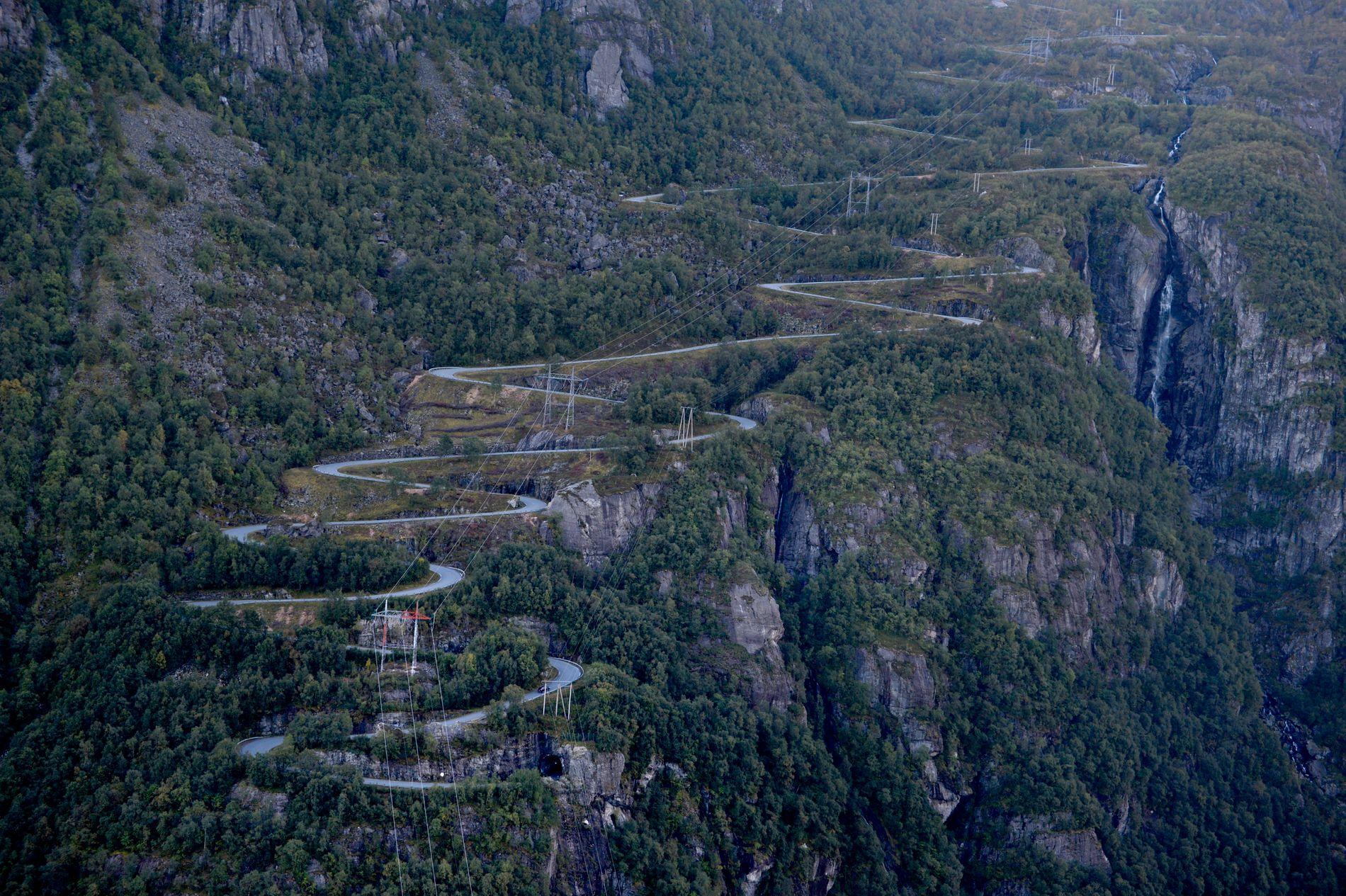 Lysebotn-svingene: 7,4 km rett opp med 640 høydemeter ved målgang.