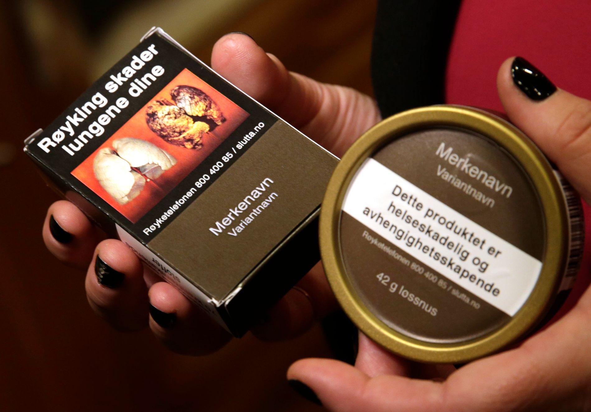 KLAR BESKJED: Klimasyndere bør advares på samme måte som røykere, mener innsenderen.