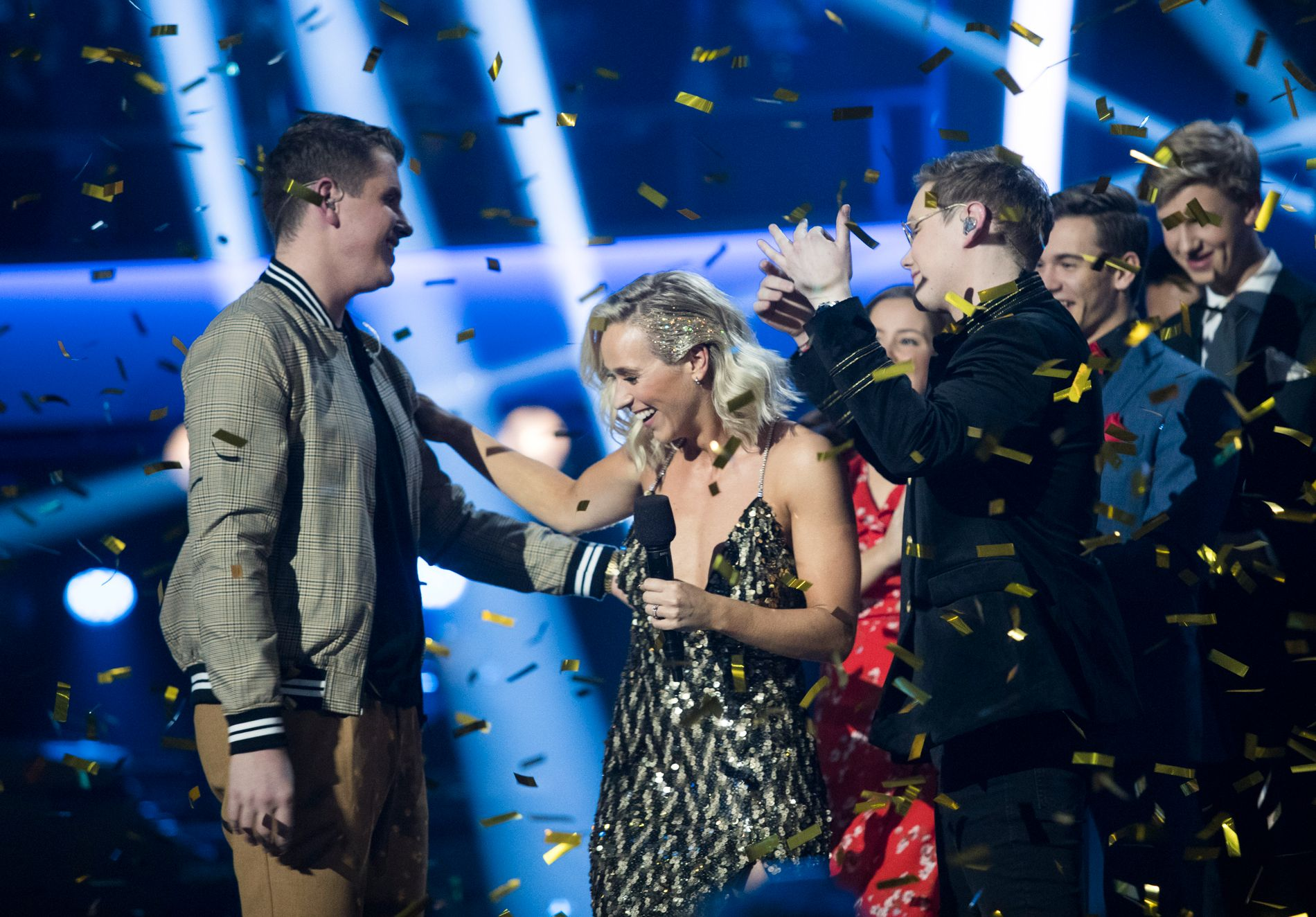 Øystein Hegvik (18) vinner Idol 2018.  Foto: Terje Bendiksby / NTB scanpix