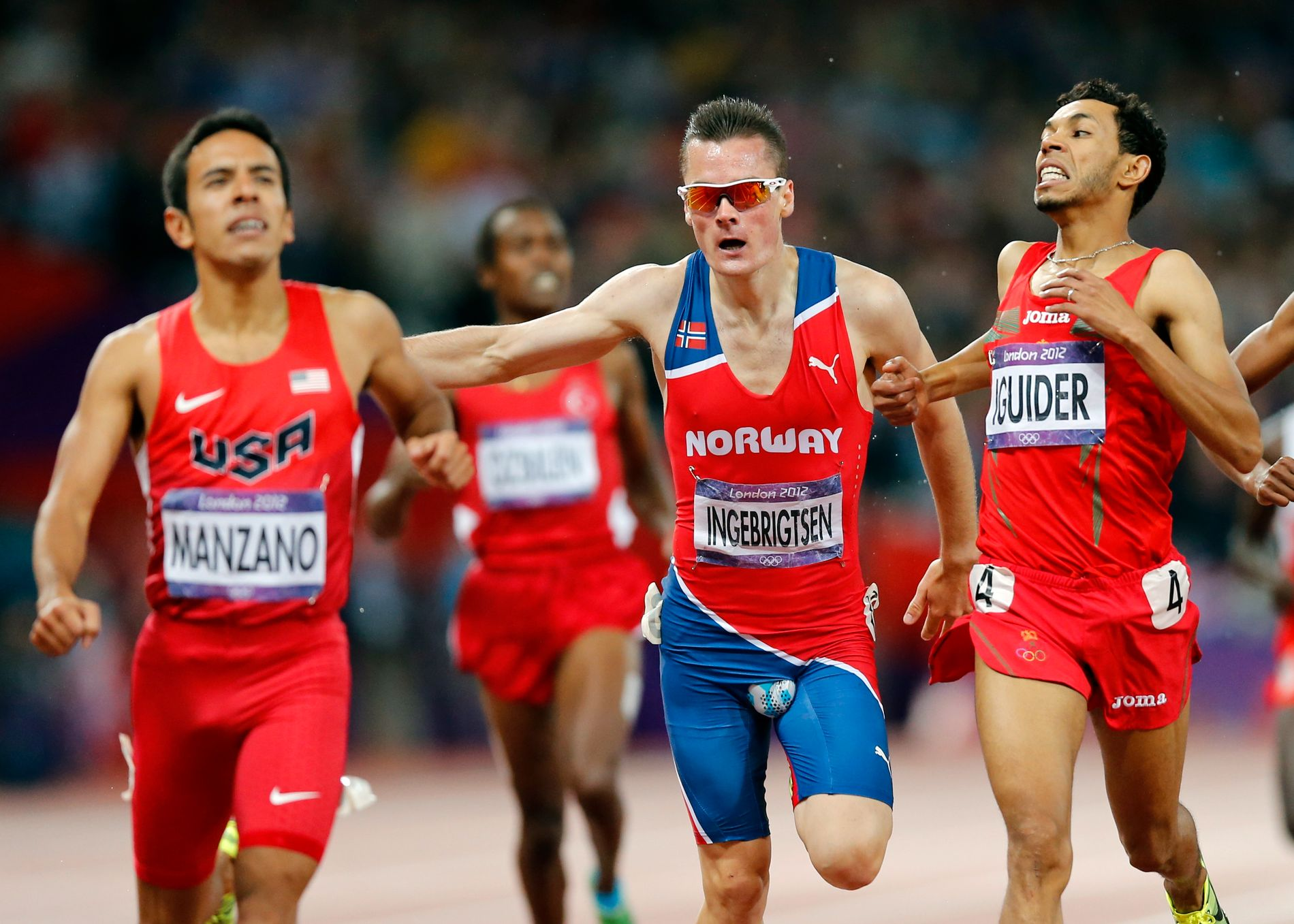 Henrik Ingebrigtsen spurter inn til en femteplass under OL i London i 2012 med en sprekk i drakten på et veldig underlig sted. Etter dette var han plutselig en mann alle kjente til. Nordmannen som hevdet seg på 1500 meter.