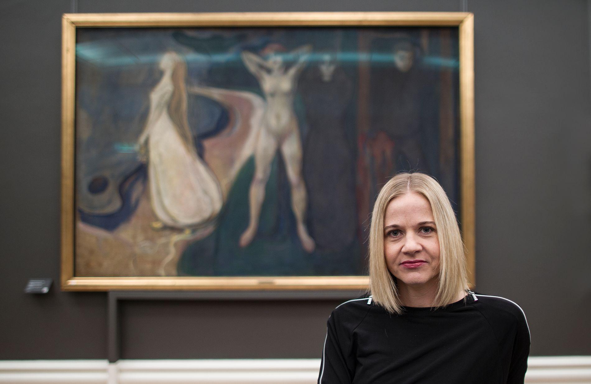 NASJONALMUSEETS DIREKTØR. Karin Hindsbo var sjef før Kode-museene i Bergen før hun tok over på Nasjonalmuseet i 2017. Hun forsvarer naturlig nok hundremillionersavtalen med Fredriksen-familien.