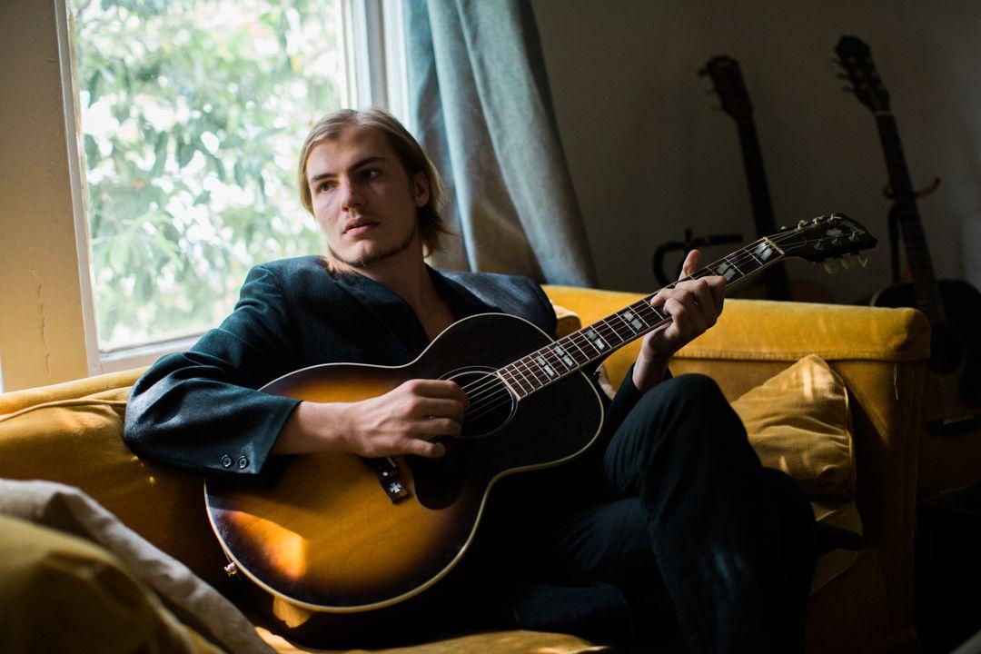 UNGT TALENT: Dylan LeBlanc Spiller på Bergen Live Sessions tirsdag kveld.