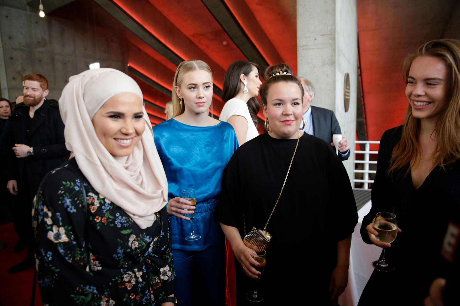 KONKURRERER: SKAM-skuespillerne kjemper om den gjeve beste TV-dramaprisen mot «Aber Bergen», «Heimebane» og «En Natt».