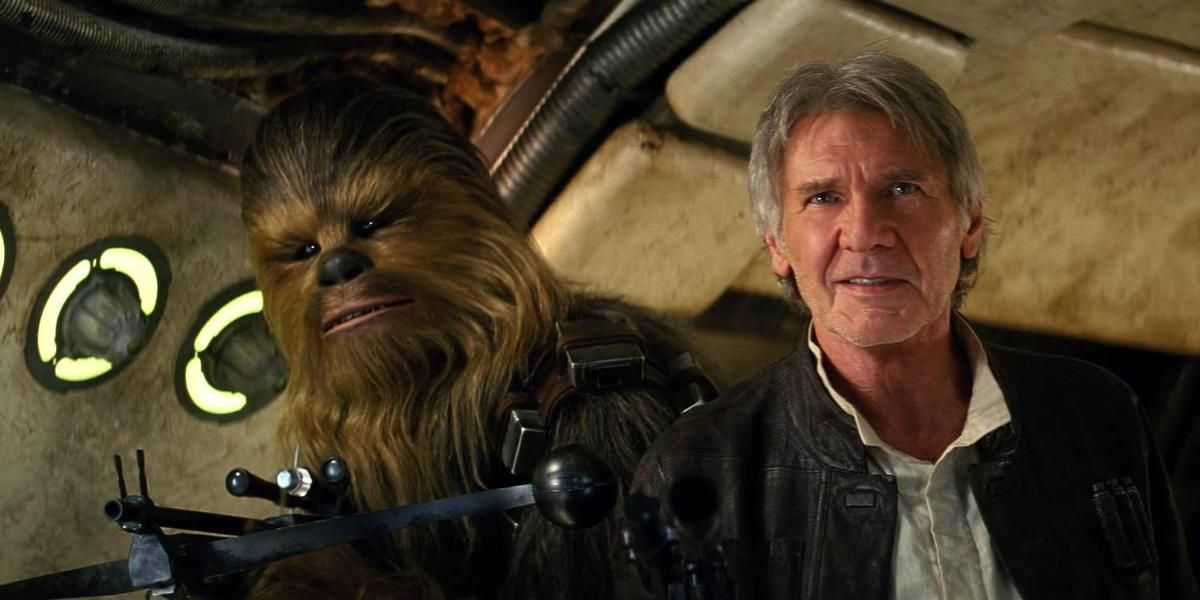901eb93d DE ER TILBAKE: Chewbacca og Harrison Ford som Han Solo i Star Wars-filmen  «The Force Awakens». FOTO: FILMWEB