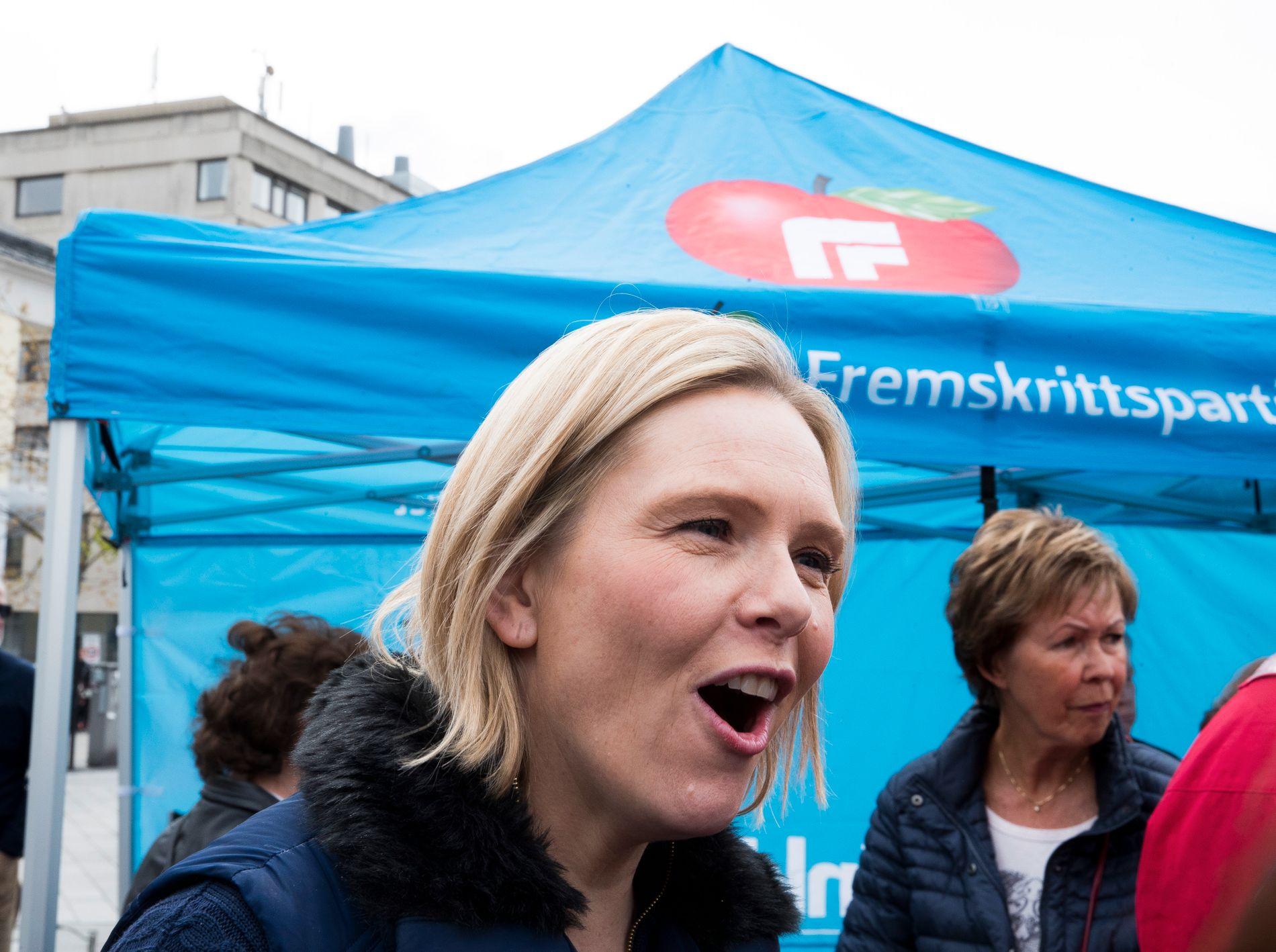 NYE FORSLAG: Fredag ble Sylvi Listhaug ny eldre- og folkehelseminister. Noen dager før, la hun frem 94 forslag til ny integreringspolitikk for Frp.