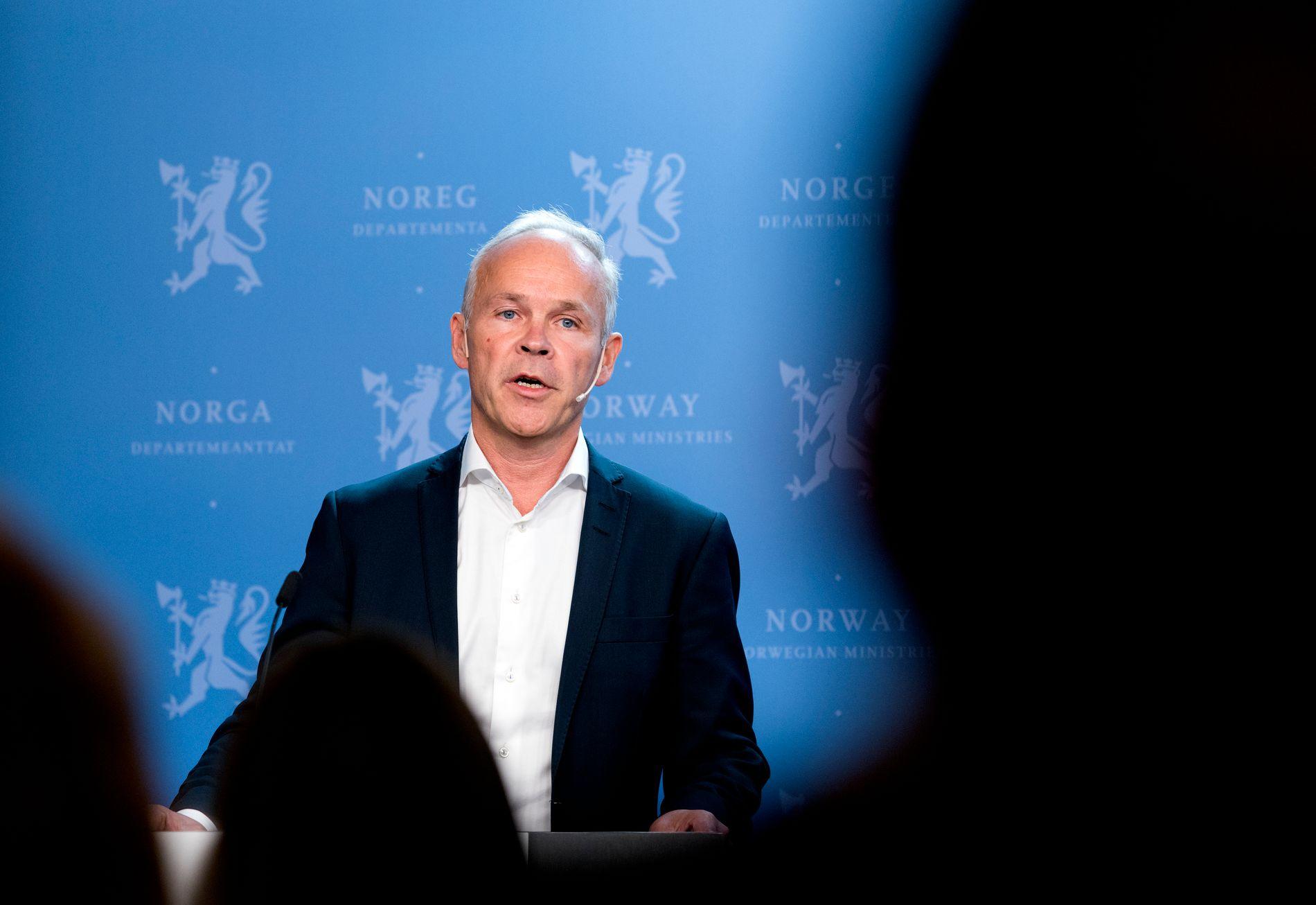 Kommunal- og moderniseringsminister Jan Tore Sanner (H). Foto: Gorm Kallestad / NTB scanpix