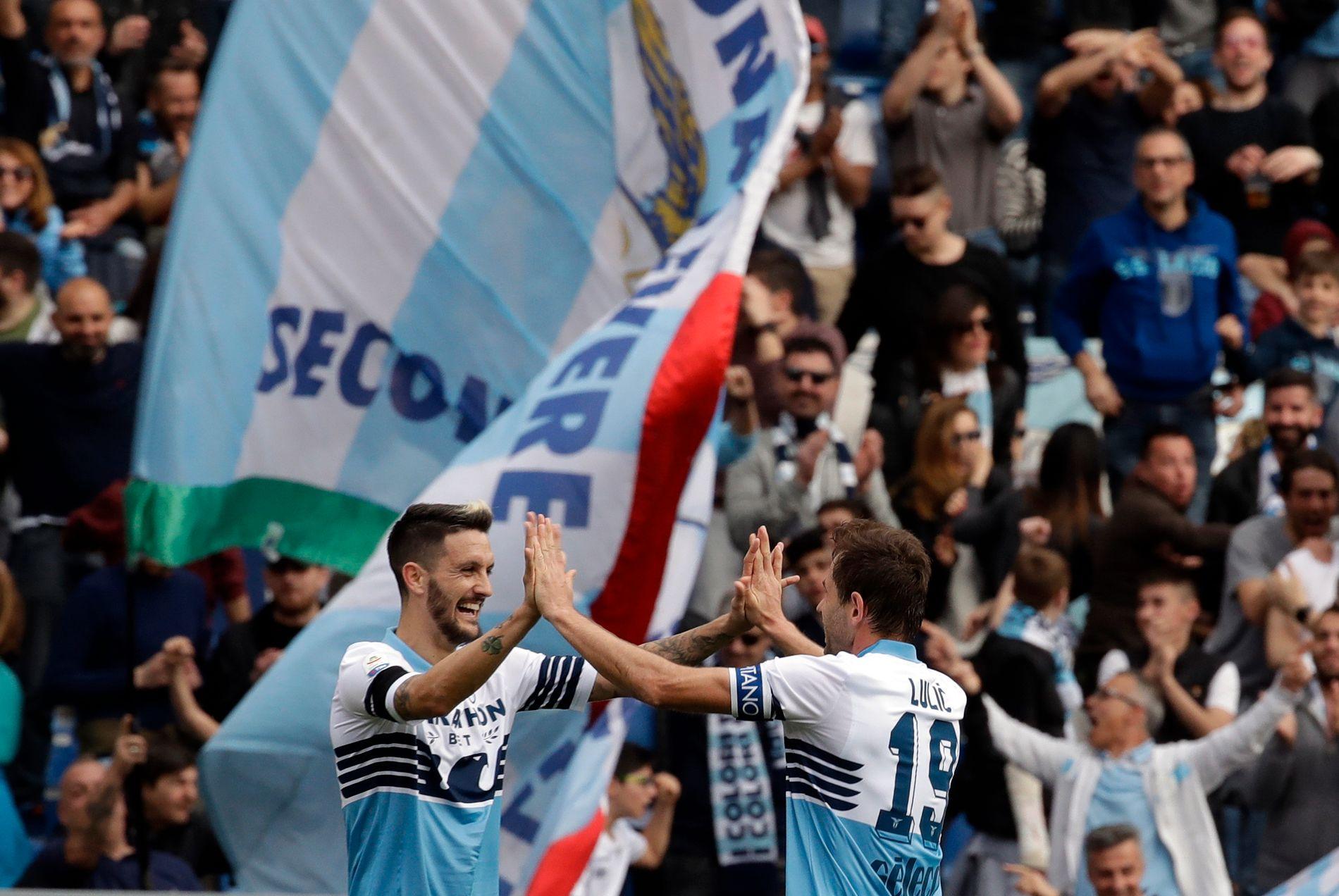 Deler av Lazio-fansen har havnet i hardt vær.