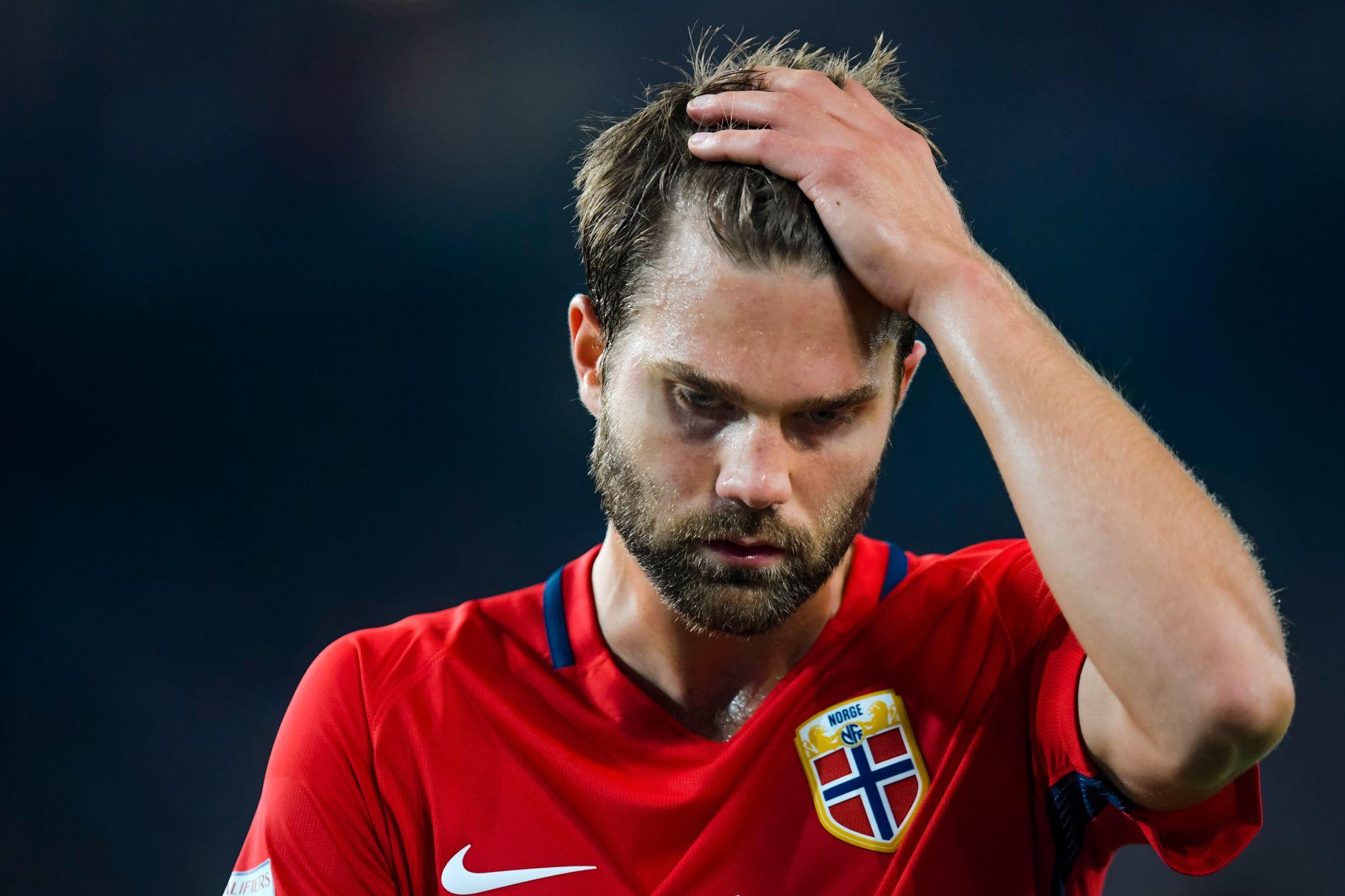 Jørgen Skjelvik og Norge fikk det svært tøft i Tyskland.
