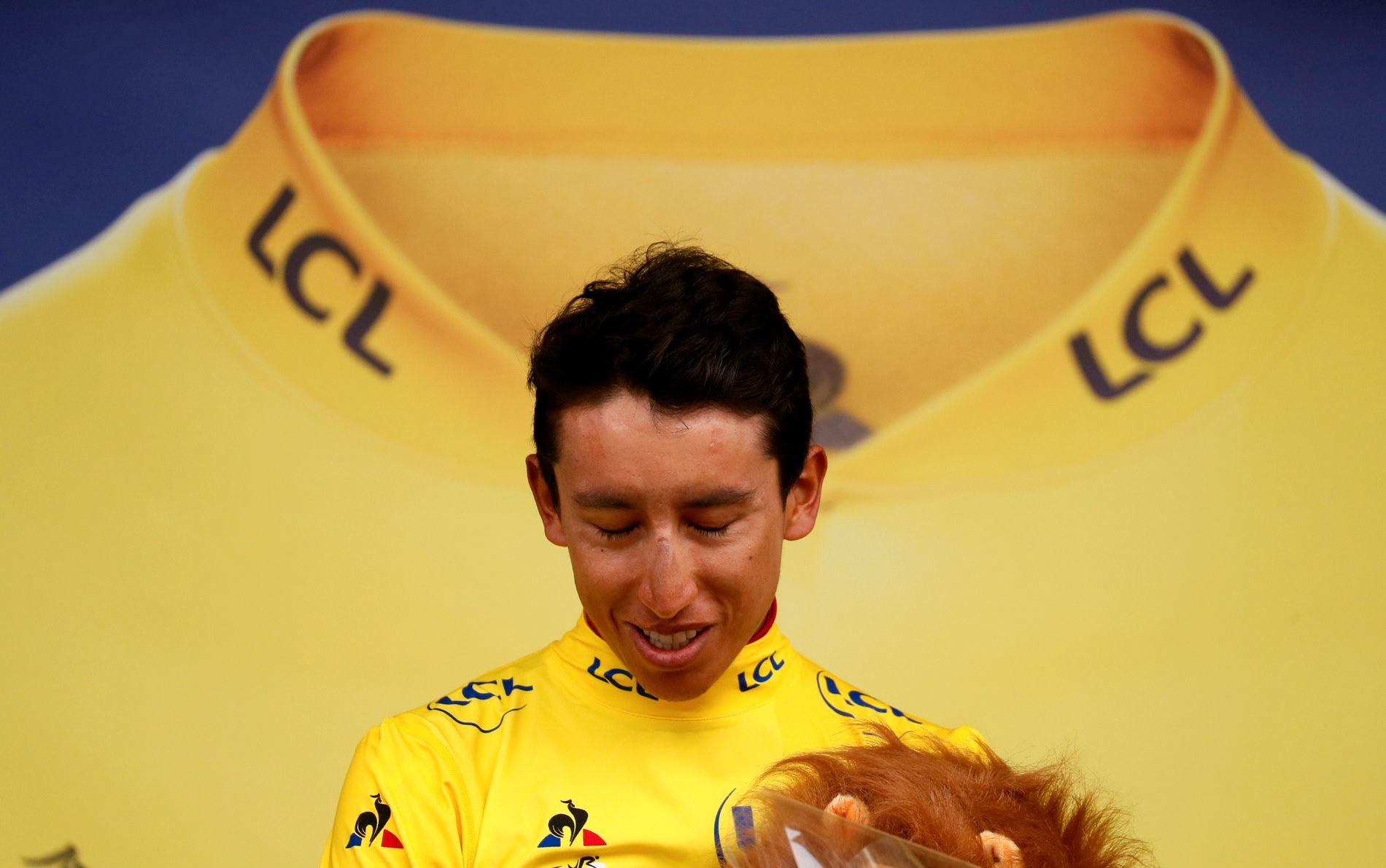 Egan Bernal ble den første colombianeren til å vinne Tour de France.