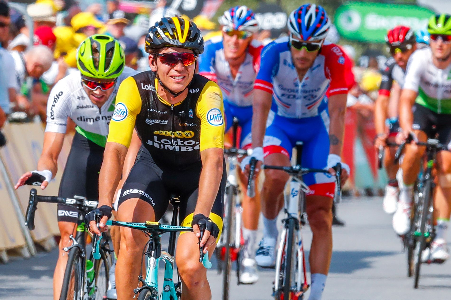Amund Grøndahl Jansen får en viktig rolle som hjelperytter i Tour de France.