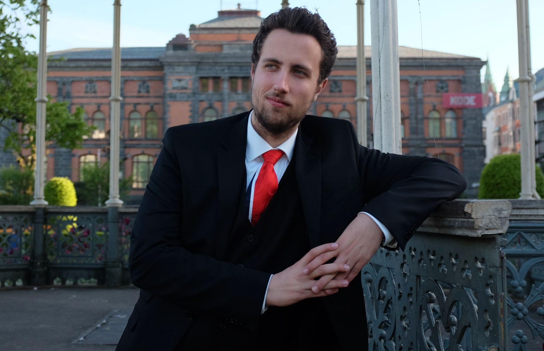 Innsenderen: Jusstudent Jonas Nielsen