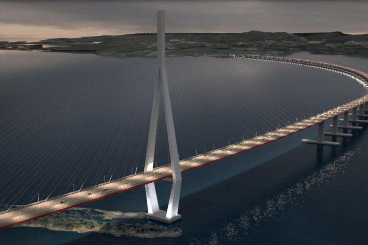 TVILSOMT: Når det gjelder Hordfasts forherligelse av broprosjektet over Bjørnafjorden, stopper det opp.  Lønnsomheten er i beste fall tvilsom, i verste fall ikke tilstede, skriver innsender.