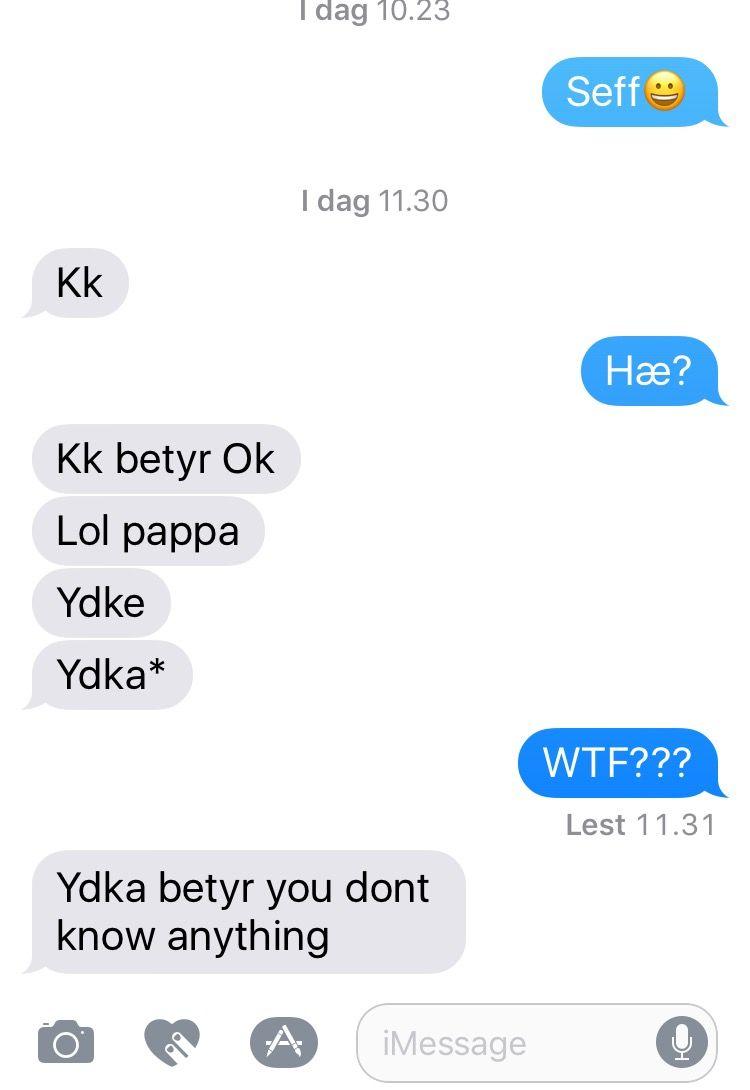 Tenåringsspråket blir verre og verre å forstå for Christian Nome Lepsøe.