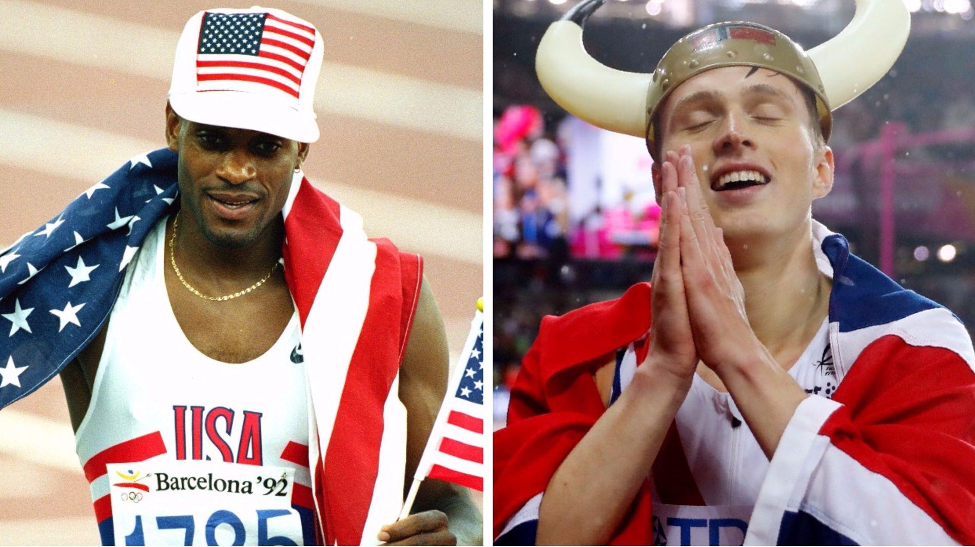 Kevin Youngs verdensrekord fra 1992 står fortsatt. Karsten Warholm er for øyeblikket verdens beste på 400 meter hekk, men ikke i nærheten av amerikanerens tid.