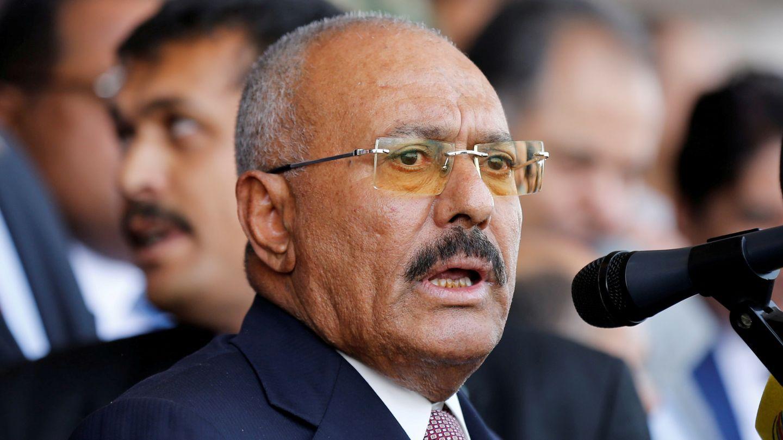MÅTTE TREKKE SEG: Etter den arabiske våren, måtte Salih trekke seg etter folkelige protester, og det oppsto et maktvakuum i Jemen. Salih hadde da styrt Jemen siden 1978, skriver Eirik Hovden.