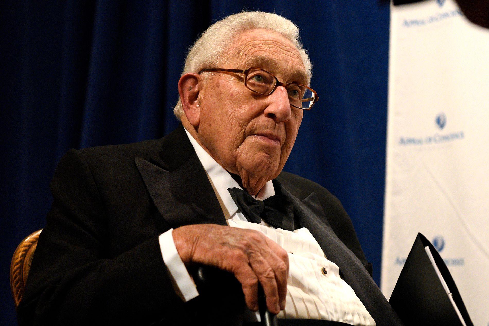 UTANRIKSMINISTER: Henry Kissinger var USAs utanriksminister frå 1973 til 1977.