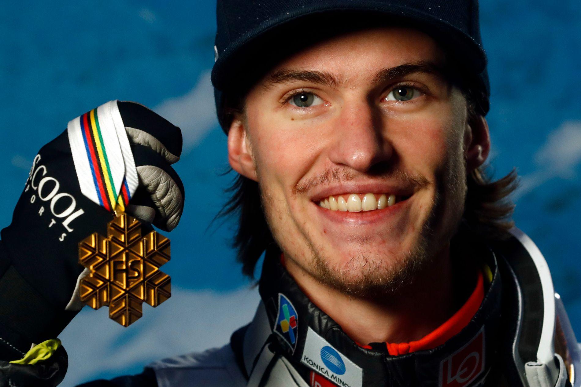 Daniel-André Tande er Norges første verdensmester i skiflyging siden 2006.