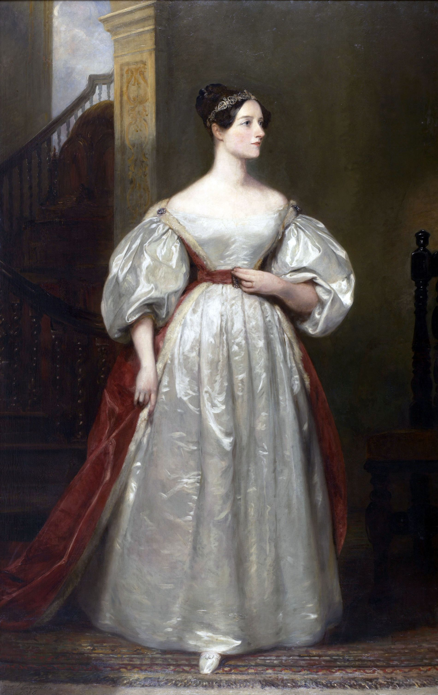 KVINNE I HISTORIA:  Ada Byron Lovelace (1815-1852) var ei britisk grevinne som reknast som den første dataprogrammeraren, grunna hennar bidrag og visjonar for ei analytisk reknemaskin, skriv Amalie Kvamme. Ho meiner at kvinner må kvoterast inn i historiebøkene. Kvinner må kvoterast inn i historiebøkene.