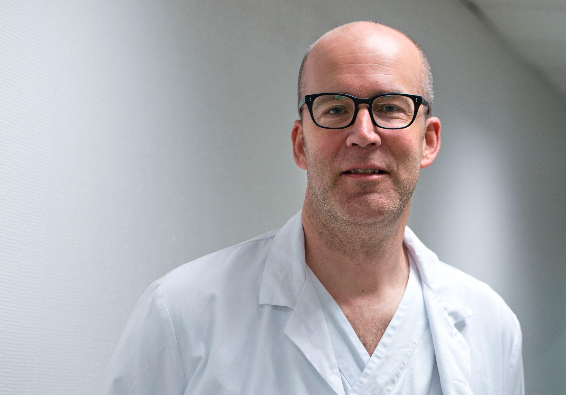 LOVENDE: – Dette er lovende, selv om det gjenstår mye arbeid med å dokumentere effekten av medisinen, sier forsker Oddbjørn Straume ved Haukeland universitetssjukehus. Han leder en av studiene.