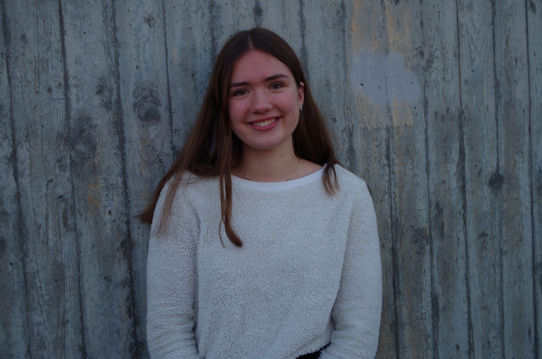 SOSIALE MEDIER:  Det er viktig å ha i bakhodet at ikke alt er realistisk på sosiale medier, skriver Olivia Shuler (14).