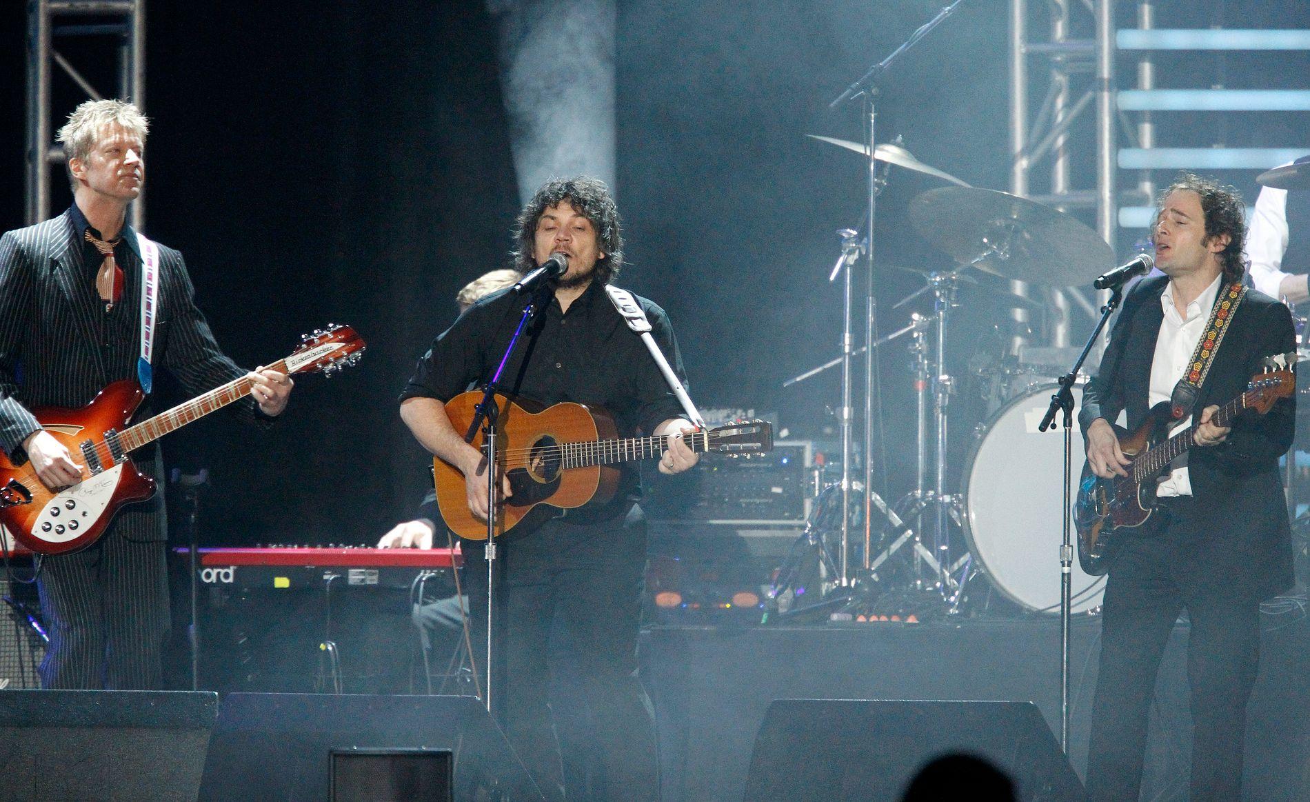 KOMMER: Nels Cline, Jeff Tweedy og John Stirratt er kjernen i Wilco.