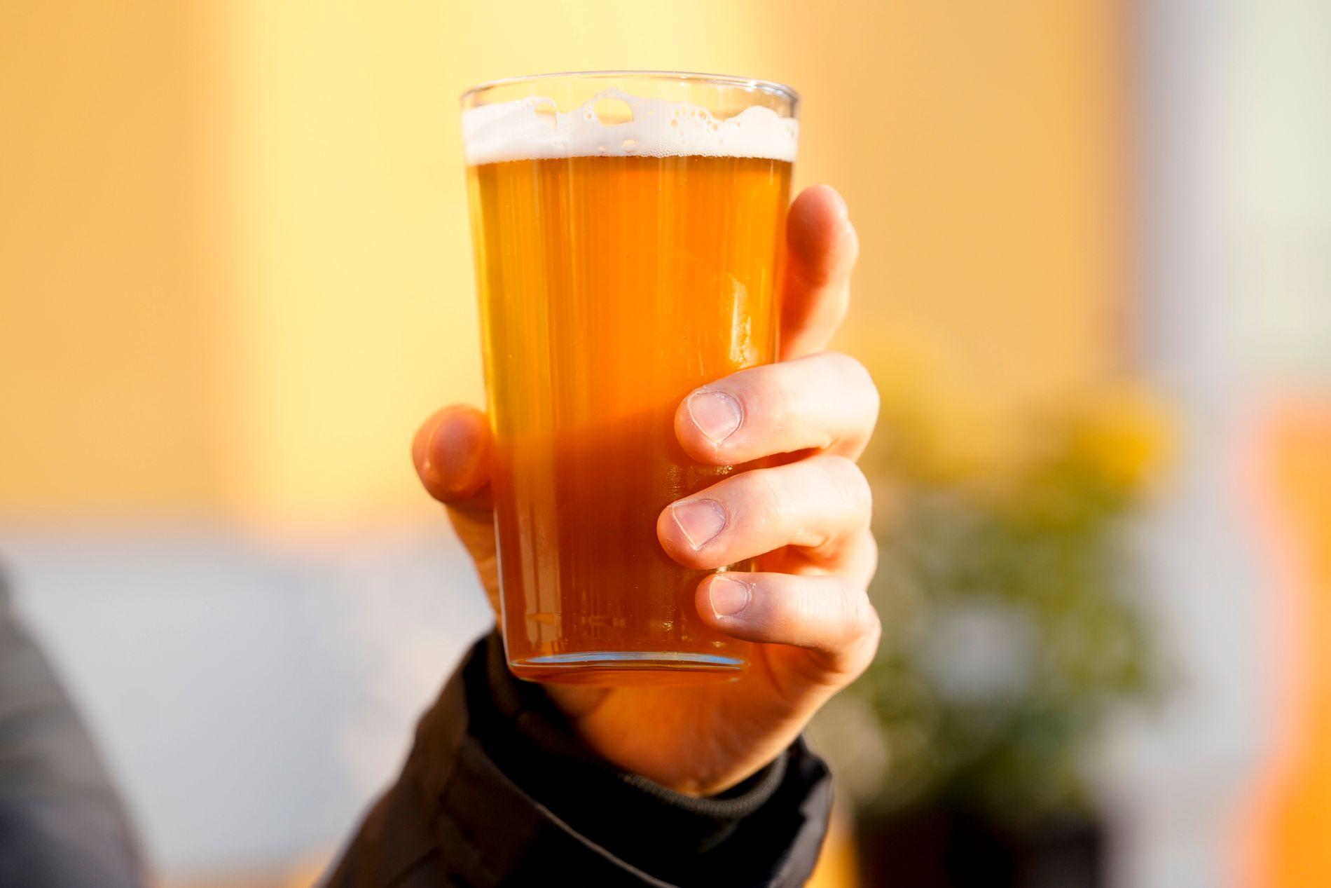 SIDER: Små bryggerier slipper unna med mindre avgift på sider.