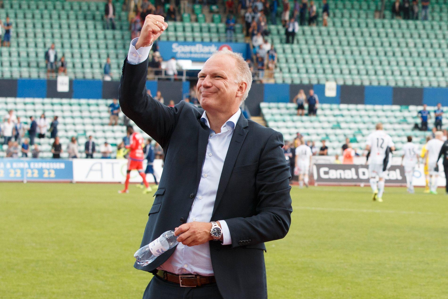 Odd-trener Dag-Eilev Fagermo er positiv til Ole Gunnar Solskjær som ny landslagssjef.