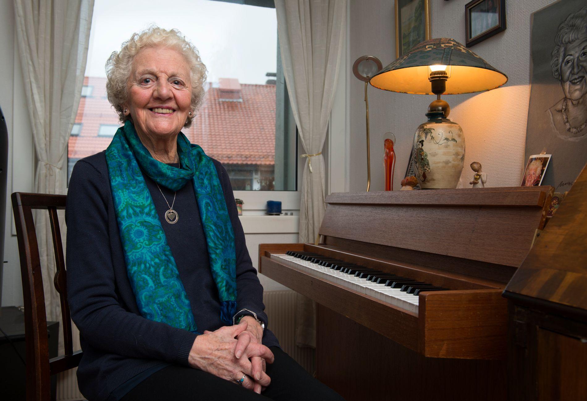 VENN FOR LIVET: Det er ikke alltid så lett, men når du bli godt kjent med en fra Norge, så har du en kjær venn for hele livet, skriver Rosemary Lund (84).