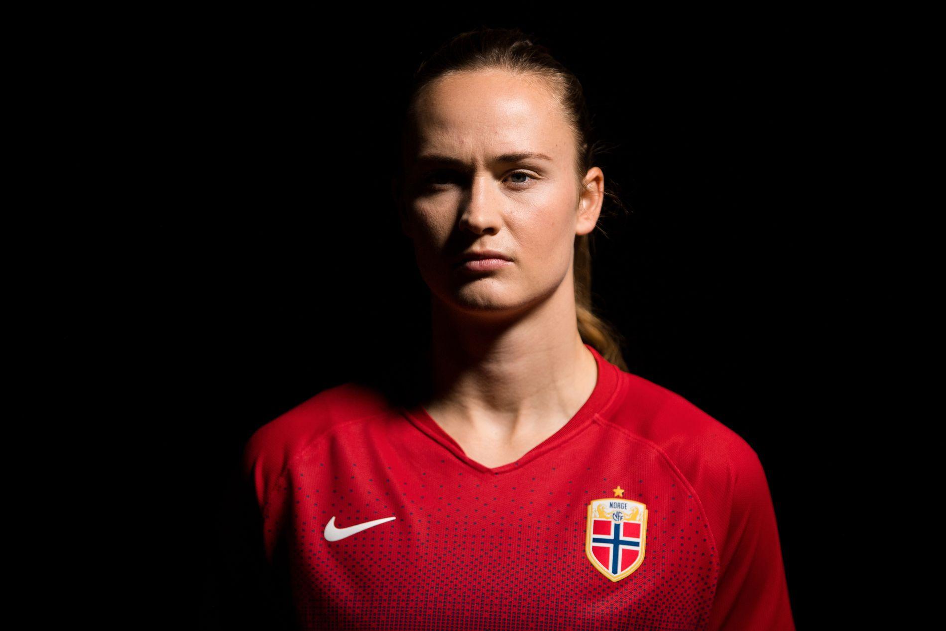 Caroline Graham Hansen spilte mye med herrelandslagets Mats Møller Dæhli i oppveksten.