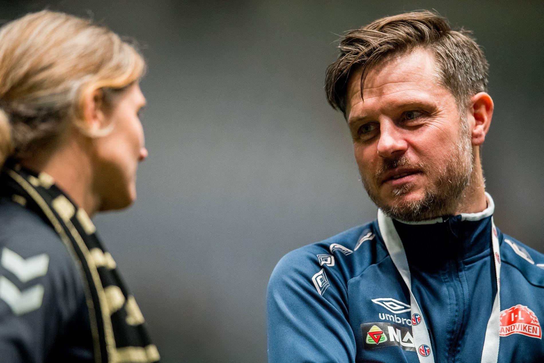 Sandviken-trener Alexander Straus.