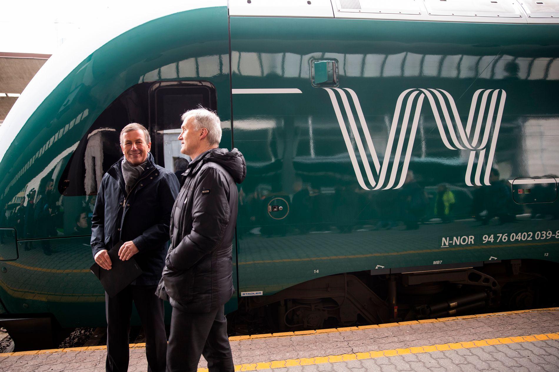 NYTT NAVN: Vy blir det nye navnet når NSB samler tog- og bussvirksomheten under en ny, felles merkevare.