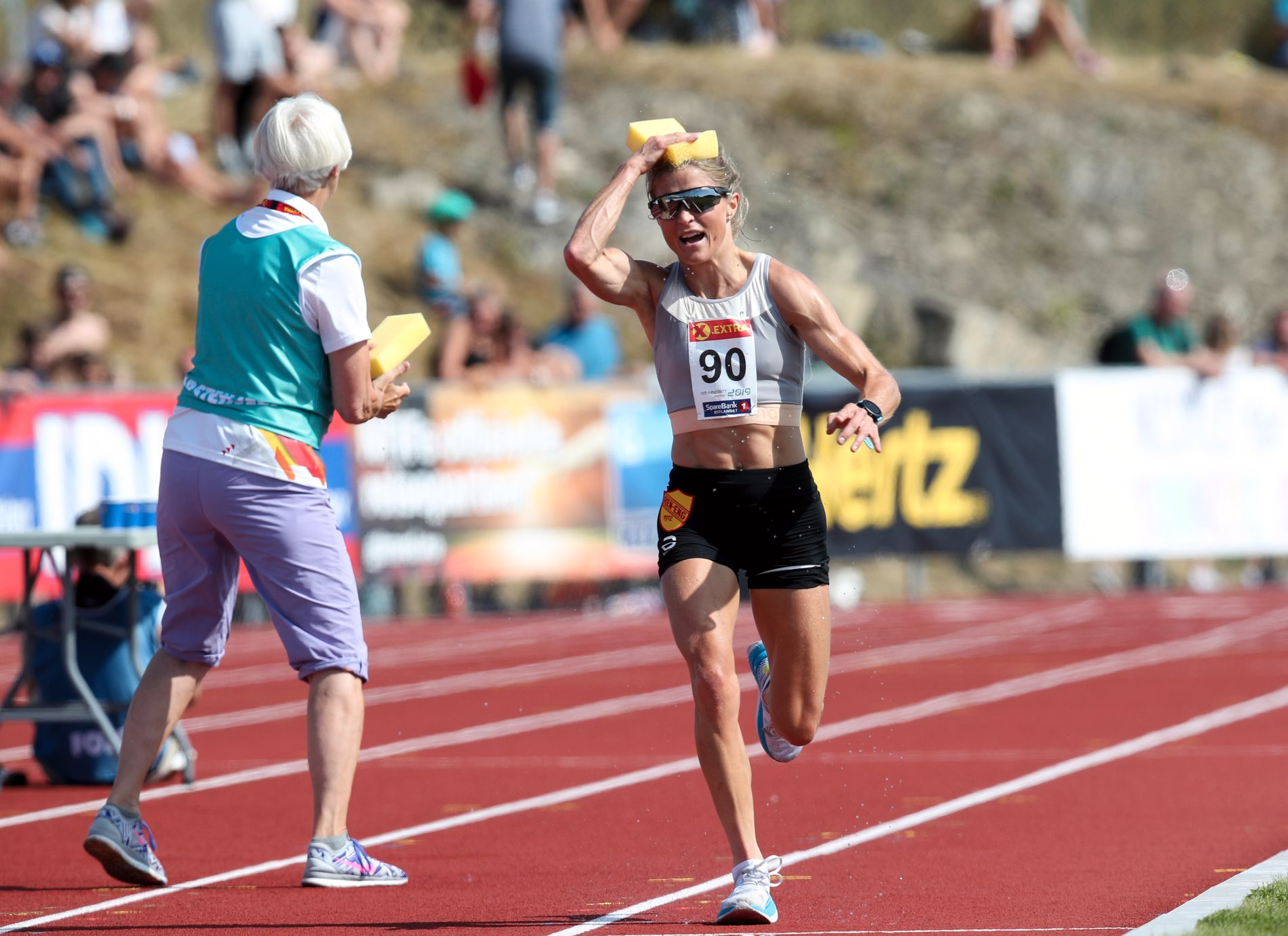 Johaug tok gull på 10.000 meter under NM på Hamar i starten av august.