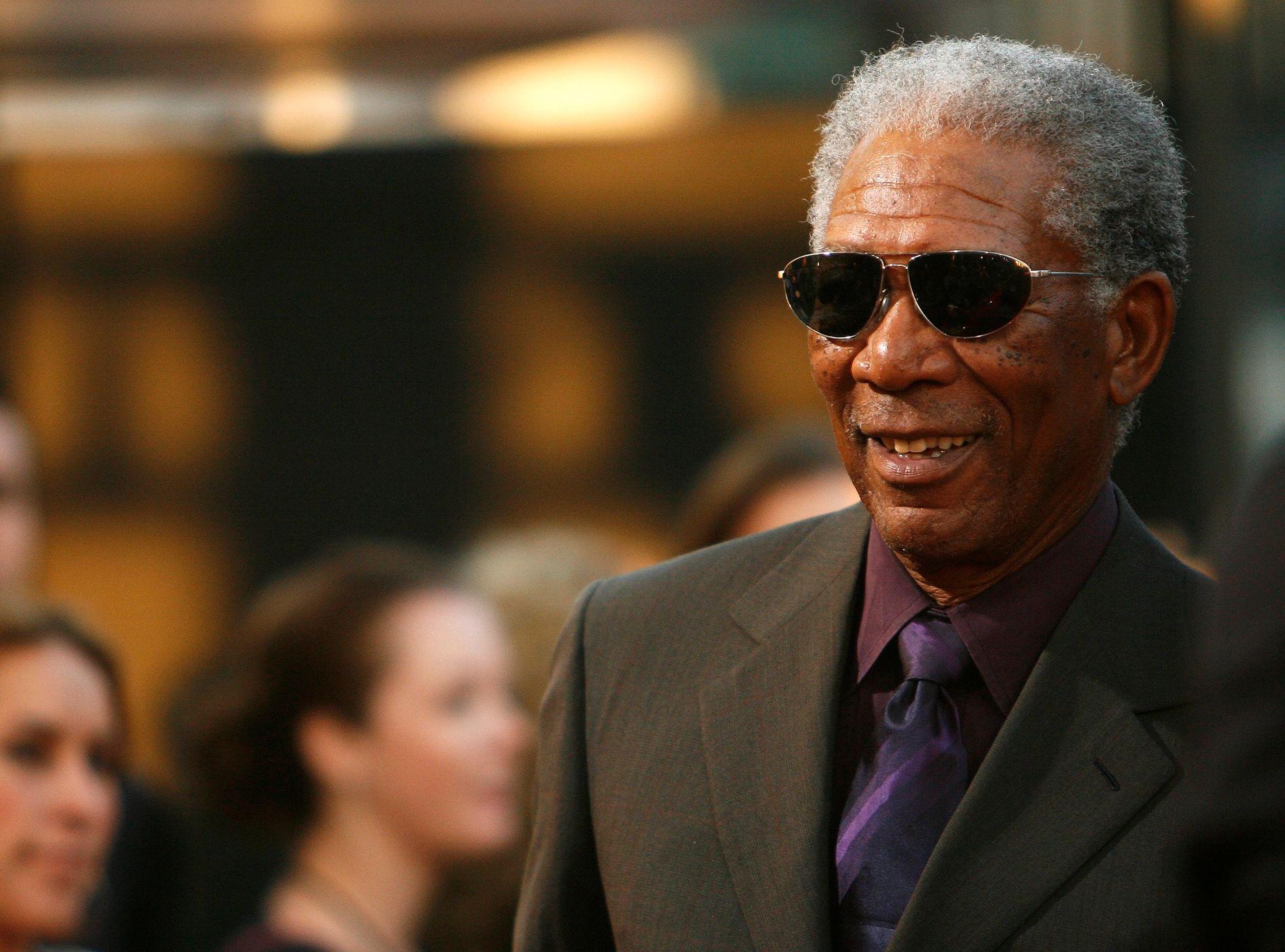 ANKLAGES: Skuespiller Morgan Freeman. Bildet er tatt i 2007.