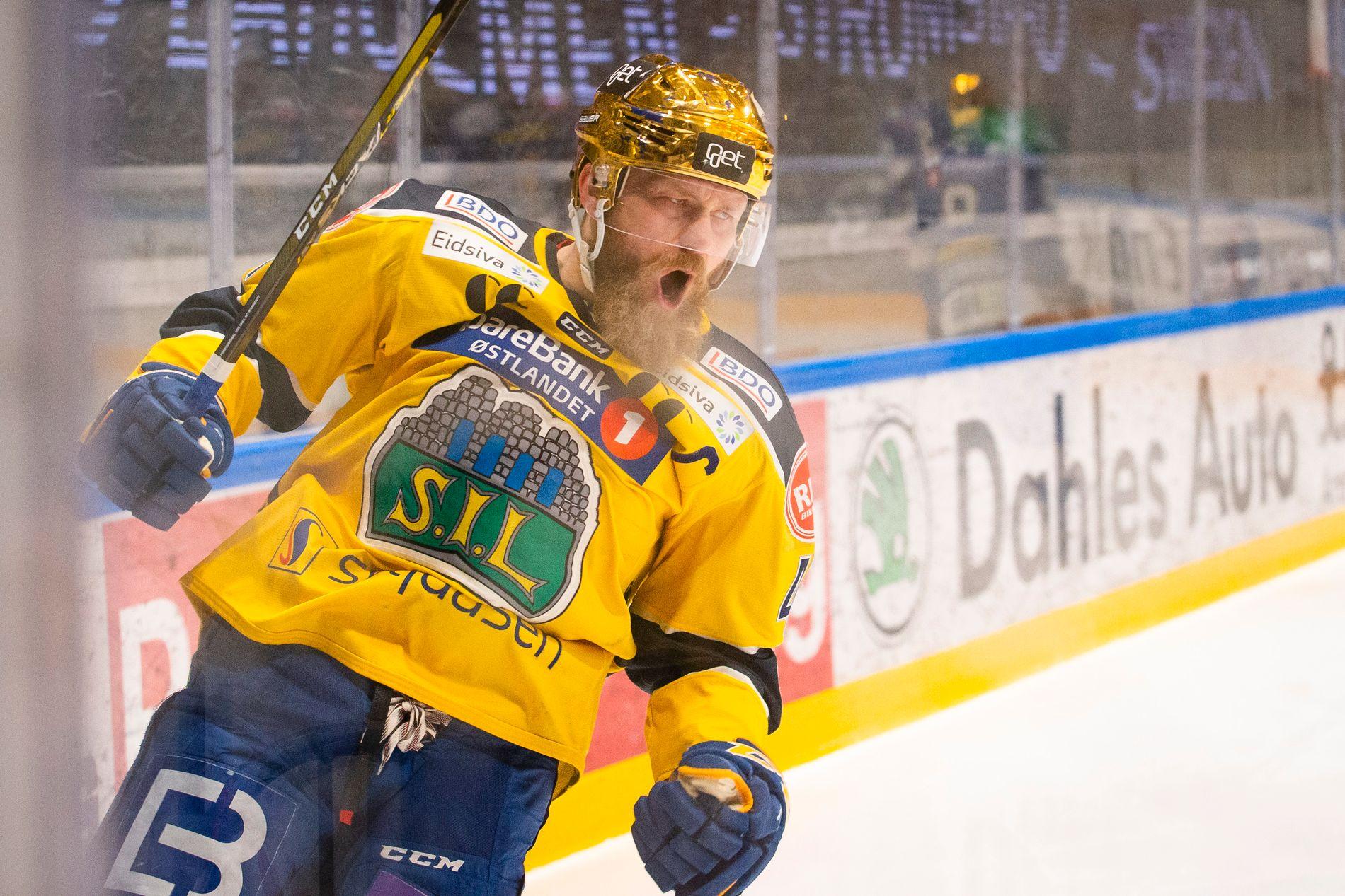 Patrick Thoresen storspilte i Storhamars 4-1-seier over Sparta.