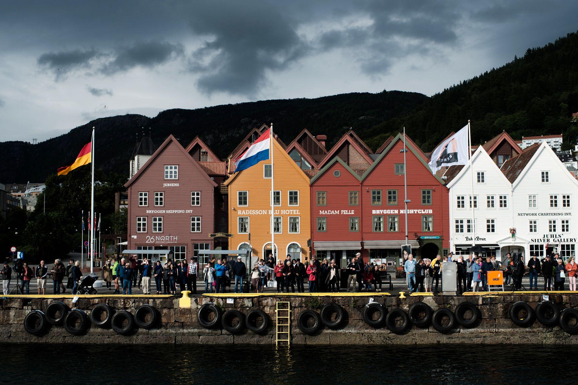 MER SOM ANDRE BYER: Følelsen av at Bergen har mistet sitt særpreg, har kommet gradvis, skriver eksilbergenser Knut Aarbakke.