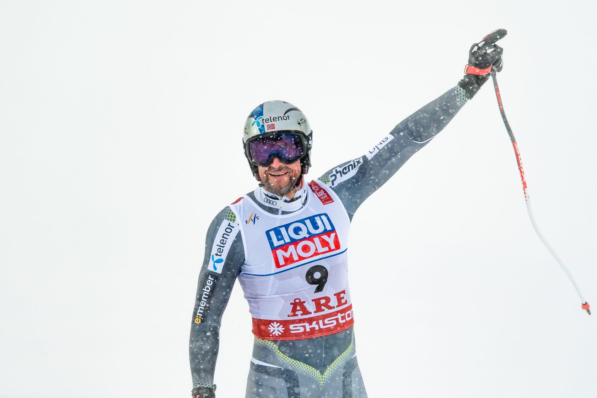Aksel Lund Svindal avsluttet karrieren med sølv i utforen i Åre-VM.